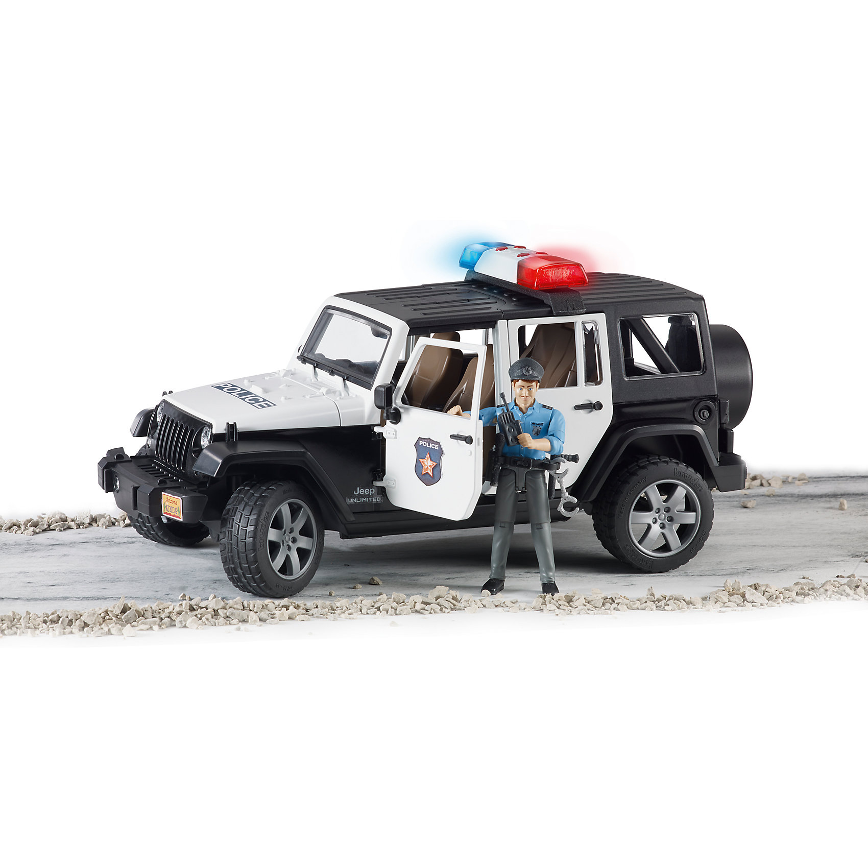 ����������� Jeep Wrangler ������� � ��������, Bruder