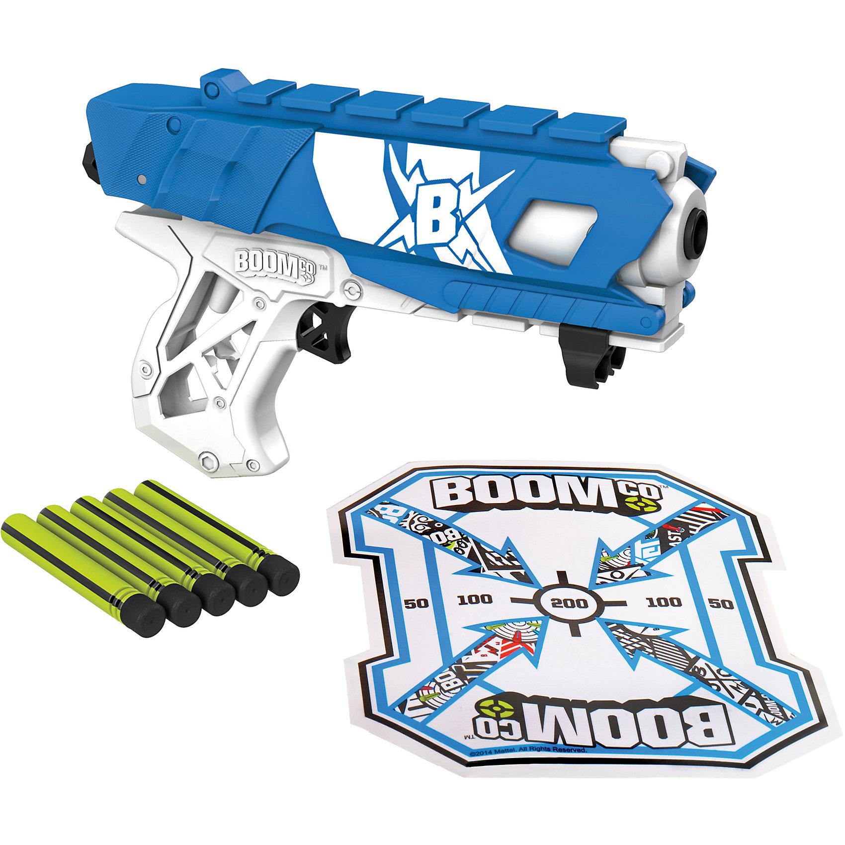 Бластер Farshot в ассортименте, BOOMcоБластер Farshot в ассортименте, BOOMcо (Бумко) - это увлекательный игровой набор для веселых сражений и подвижных игр.<br>Этот бластер с пружинным механизмом способен стрелять дальше всех! Дальность стрельбы до 23 м! С ним ты сможешь поразить противника, находясь на безопасном расстоянии. В рукоятке имеется отделение для хранения двух дополнительных стрел, а сбоку 2 щита, чтобы ловить стрелы противников! Все стрелы Boomco имеют клейкие наконечники: при попадании в цель стрела прилипает. Игра с бластером Farshot поможет в развитии меткости, ловкости, координации движений и сноровки.<br><br>Дополнительная информация:<br><br>- В комплекте: бластер, 3 стрелы с наконечниками Smart Stick, мишень со специальным покрытием<br>- Цвет в ассортименте<br>- Материал: высококачественный пластик<br>- Размер упаковки: 19 х 23 х 5,5 см.<br>- Вес: 312 гр.<br>- ВНИМАНИЕ! Данный артикул представлен в разных вариантах исполнения. К сожалению, заранее выбрать определенный вариант невозможно. При заказе нескольких наборов возможно получение одинаковых<br><br>Бластер Farshot в ассортименте, BOOMcо (Бумко) можно купить в нашем интернет-магазине.<br><br>Ширина мм: 190<br>Глубина мм: 230<br>Высота мм: 55<br>Вес г: 312<br>Возраст от месяцев: 72<br>Возраст до месяцев: 144<br>Пол: Мужской<br>Возраст: Детский<br>SKU: 4234295