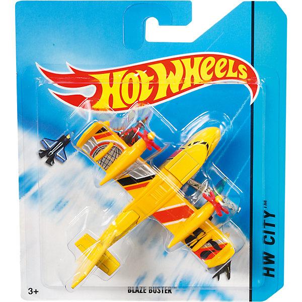 Самолёты, Hot WheelsСамолёты и вертолёты<br>Самолёты в ассортименте, Hot Wheels (Хот Вилс) - это замечательный подарок для вашего мальчика.<br>Hot Wheels поможет тебе покорить небо и стать первоклассным пилотом! Серия Sky Busters включает реалистичные, тщательно проработанные самолеты и вертолеты, точь-в-точь похожие на настоящие!<br><br>Дополнительная информация:<br><br>- В комплекте: один самолет<br>- Материал: высококачественный пластик<br>- Размер упаковки: 165x137х30 мм.<br>- Вес: 70 гр.<br><br>- ВНИМАНИЕ! Данный артикул представлен в разных вариантах исполнения. К сожалению, заранее выбрать определенный вариант невозможно. При заказе нескольких наборов возможно получение одинаковых<br><br>Самолёты в ассортименте, Hot Wheels (Хот Вилс) можно купить в нашем интернет-магазине.<br>Ширина мм: 165; Глубина мм: 140; Высота мм: 30; Вес г: 70; Возраст от месяцев: 48; Возраст до месяцев: 96; Пол: Мужской; Возраст: Детский; SKU: 4234300;