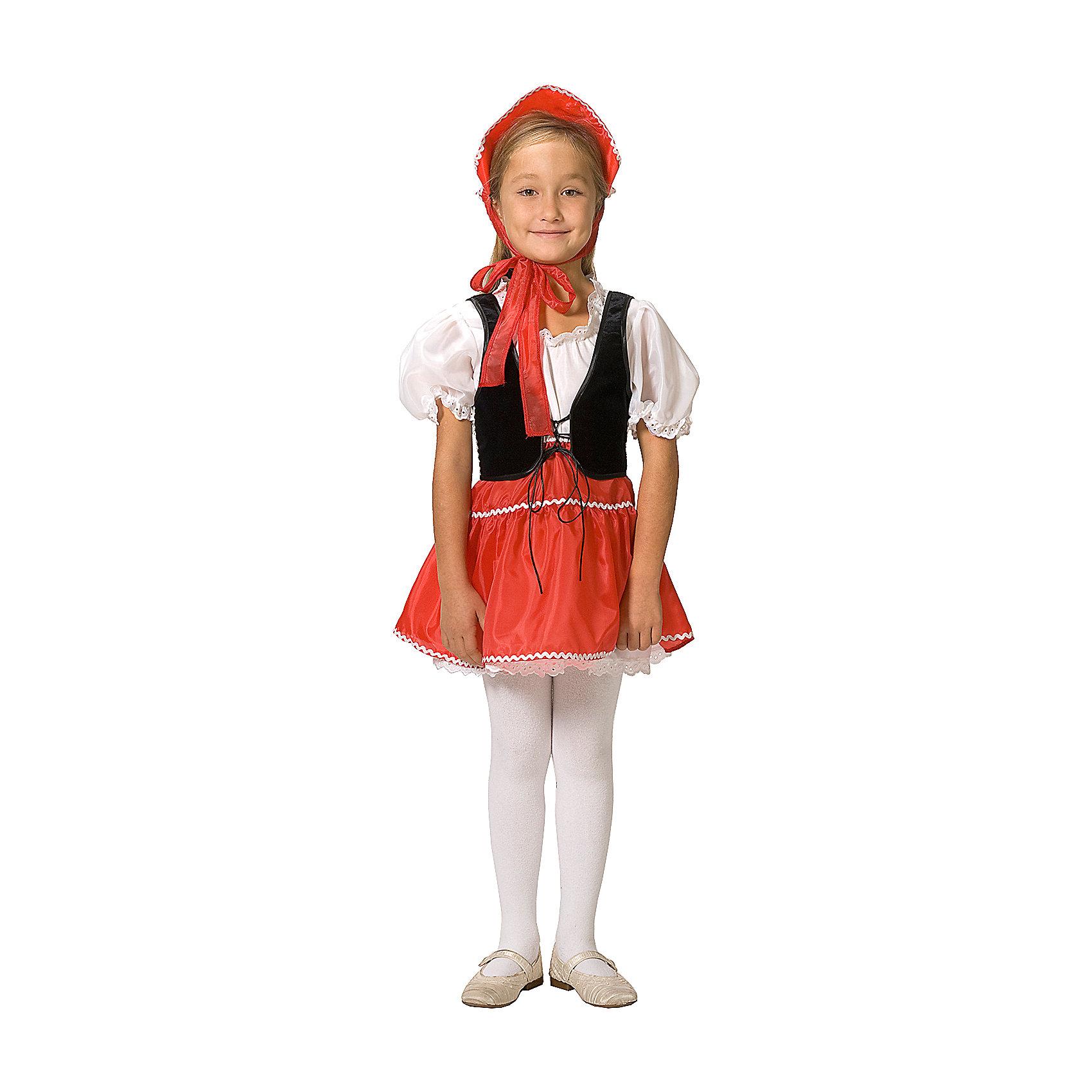 """Карнавальный костюм для девочки """"Красная Шапочка"""", Вестифика от myToys"""