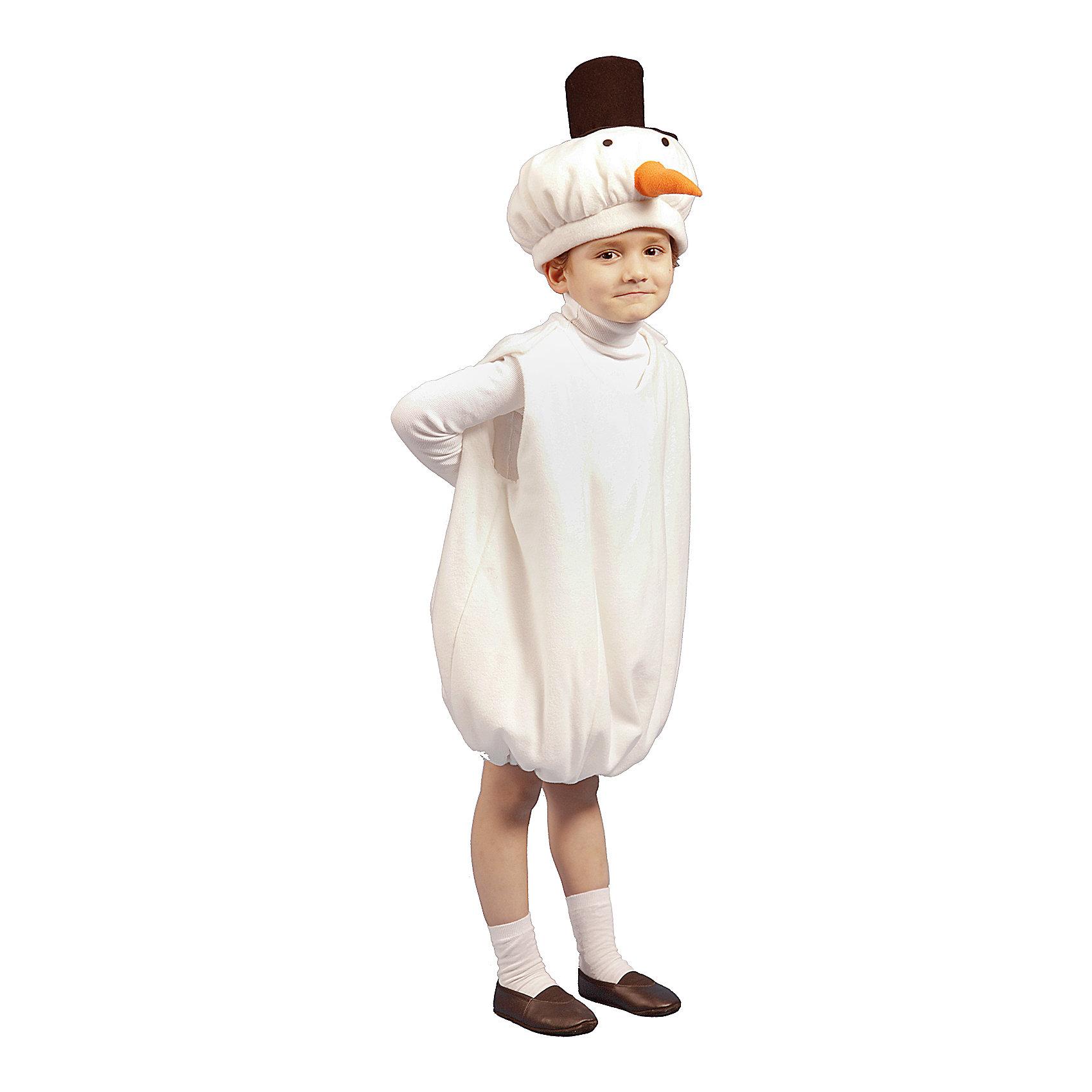 """Карнавальный костюм для мальчика """"Снеговик"""", Вестифика от myToys"""