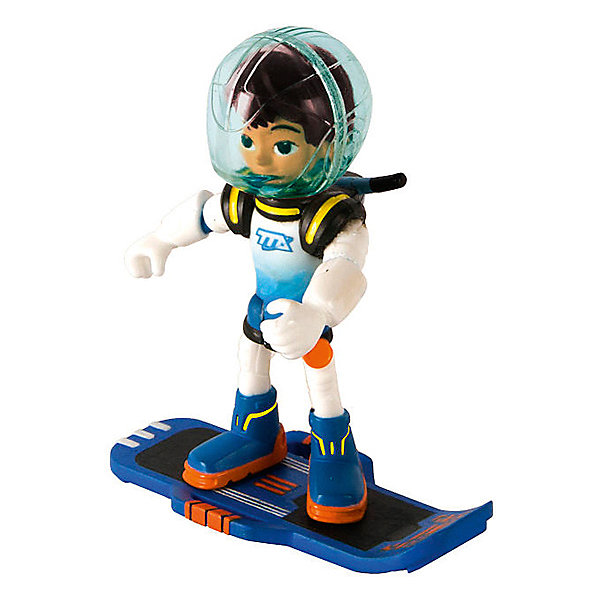 Фигурка Майлз с бластбордом, 7 см, MILESФигурки из мультфильмов<br>Майлз - любознательный мальчишка, герой известного мультфильма Майлз с другой планеты. Фигурка Miles from Tomorrowland прекрасно детализирована и реалистично раскрашена. Майлз одет в свой космический костюм, а на голове у него съемный шлем. В набор входит бластборд Майлза, на котором он передвигается над поверхностью. Собери все фигурки проигрывай любимые сцены из мультфильма или придумывай свои новые истории!<br><br>Дополнительная информация:<br><br>- Материал: пластик.<br>- Съемный шлем.<br>- Совместима со всеми космическими кораблями в серии<br>- Подвижные руки, ноги, голова<br>- В комплекте бластборд.<br>- Высота фигурки - 7 см.<br><br>Фигурку Майлза с бластбордом, 7 см, MILES, можно купить в нашем магазине.<br>Ширина мм: 155; Глубина мм: 190; Высота мм: 50; Вес г: 102; Возраст от месяцев: 36; Возраст до месяцев: 192; Пол: Унисекс; Возраст: Детский; SKU: 4234764;