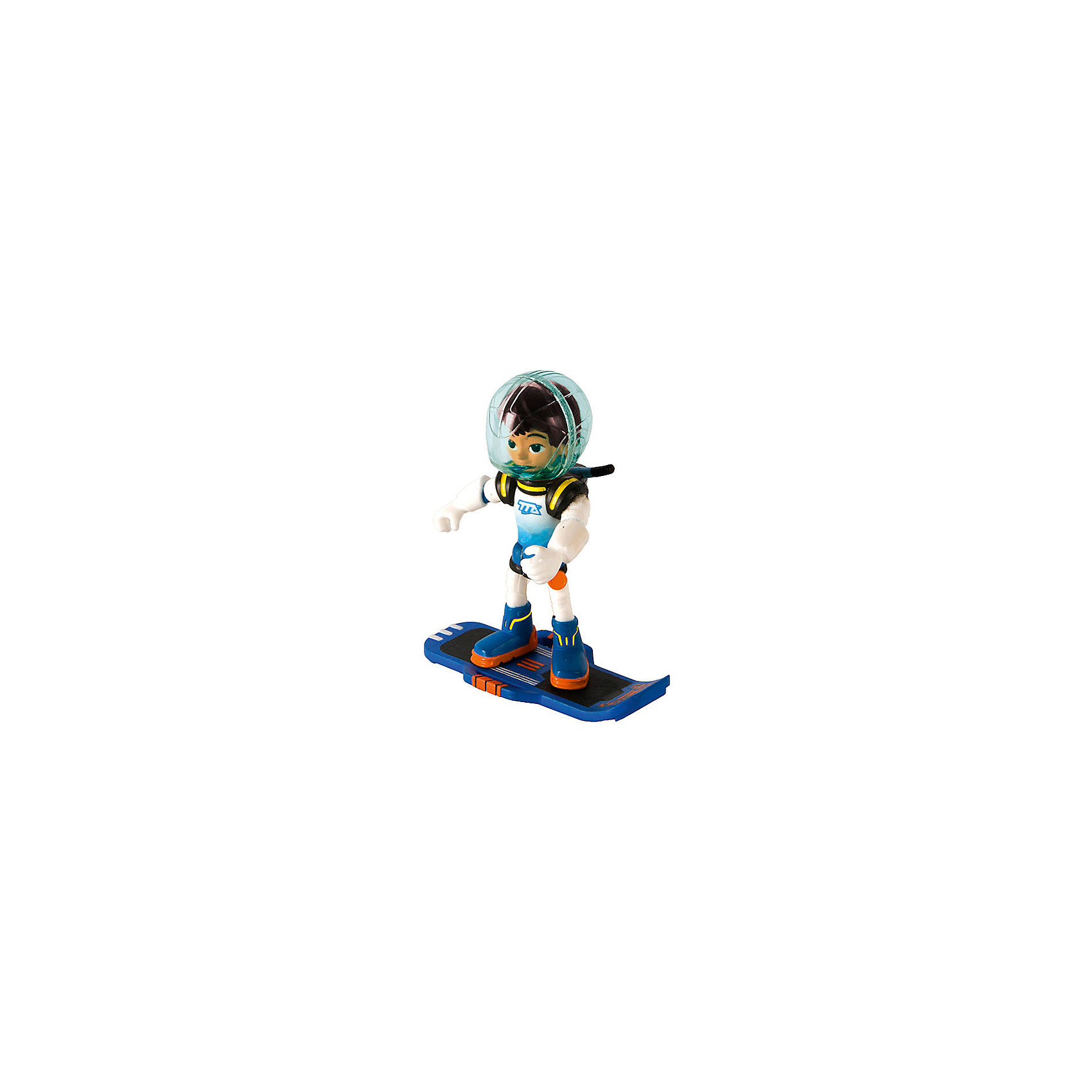 - Фигурка Майлз с бластбордом, 7 см, MILES miles from tomorrowland гравитационный диск