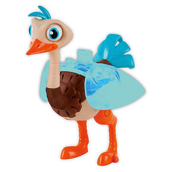 Фигурка страус Мерк, 9 см, MILESФигурки из мультфильмов<br>Робо-страус Мерк - любимый питомец семьи Каллисто из мультфильма Майлз с другой планеты. Верный спутник Майлза, который вместе с ним попадает в разнообразные интересные ситуации. В наборе также есть съёмная пара крыльев, которые создают иллюзию того, что страус вот-вот полетит! Собери все фигурки проигрывай любимые сцены из мультфильма или придумывай свои новые истории!<br><br>Дополнительная информация:<br><br>- Материал: пластик.<br>- Голова и лапы подвижные.<br>- Крылья из прозрачного материала, имитирующие быстрые взмахи.<br>- Высота фигурки - 9 см.<br><br>Фигурку страуса Мерка, 9 см, MILES, можно купить в нашем магазине.<br>Ширина мм: 155; Глубина мм: 190; Высота мм: 65; Вес г: 132; Возраст от месяцев: 36; Возраст до месяцев: 192; Пол: Унисекс; Возраст: Детский; SKU: 4234766;
