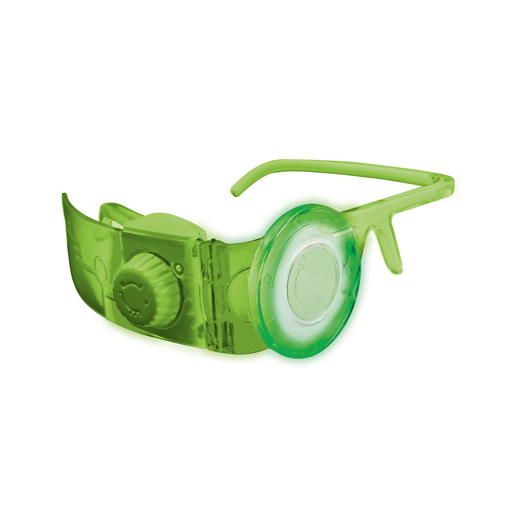 Спектральные очки, MILESСпектральные очки, которые носят герои мультика Майлз с другой планеты, совершенно необходимы при путешествиях к далеким звездам. Они дают владельцу информацию об окружающем мире, энергетических уровнях и других важных вещах. Спектроочки меняют цвет - переключатель расположен сбоку. Всего возможно 3 разных подсветки: зеленая, голубая и красная. При этом, меняются и оптические эффекты. Очки отлично подойдут детям, они надежно закрепляются и выполнены из высококачественных материалов.<br><br>Дополнительная информация:<br><br>- Материал: пластик. <br>- 3 разных подсветки.<br>- Спектральный визор.<br>- Элемент питания: 2 ААА батарейки (нет в комплекте).<br><br>Спектральные очки, MILES можно купить в нашем магазине.<br><br>Ширина мм: 205<br>Глубина мм: 190<br>Высота мм: 60<br>Вес г: 193<br>Возраст от месяцев: 36<br>Возраст до месяцев: 144<br>Пол: Мужской<br>Возраст: Детский<br>SKU: 4234779