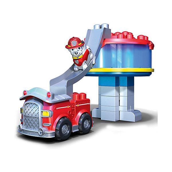 Конструктор Офис спасателей и машина Маршала, Щенячий патрульПластмассовые конструкторы<br>Большой набор Офис спасателей и машина Маршала приведет в восторг всех любителей сериала Щенячий патруль! Набор состоит из отсека для хранения кубиков, который одновременно является верхним этажом офиса спасателей, 25 разноцветных деталей, пожарного трапа, машинки Маршала. Также в комплект входит минифигурка щенка-далматинца Маршала. С этим набором Ваш малыш сможет воссоздать любимые моменты из мультсериала или отправиться на новые приключения вместе с отважными щенками.<br>Конструкторы Paw Patrol состоят из крупных разноцветных деталей, изготовленных из ударопрочного пластика. Игра с конструктором поможет развить навыки мелкой моторики и фантазию вашего ребёнка.<br><br>Дополнительная информация:<br><br>- Материал: пластик. <br>- Комплектация: 25 деталей, пожарный трап, машинка Маршала, фигурка Маршала, отсек для хранения кубиков (смотровая площадка).<br>- Размер фигурки: 5 см.<br>- Размер упаковки: 31 х 29 х 29 см.<br><br>Конструктор Офис спасателей и машина Маршала, Щенячий патруль (Paw Patrol ) можно купить в нашем магазине.<br>Ширина мм: 310; Глубина мм: 340; Высота мм: 310; Вес г: 2270; Возраст от месяцев: 12; Возраст до месяцев: 84; Пол: Мужской; Возраст: Детский; SKU: 4234781;