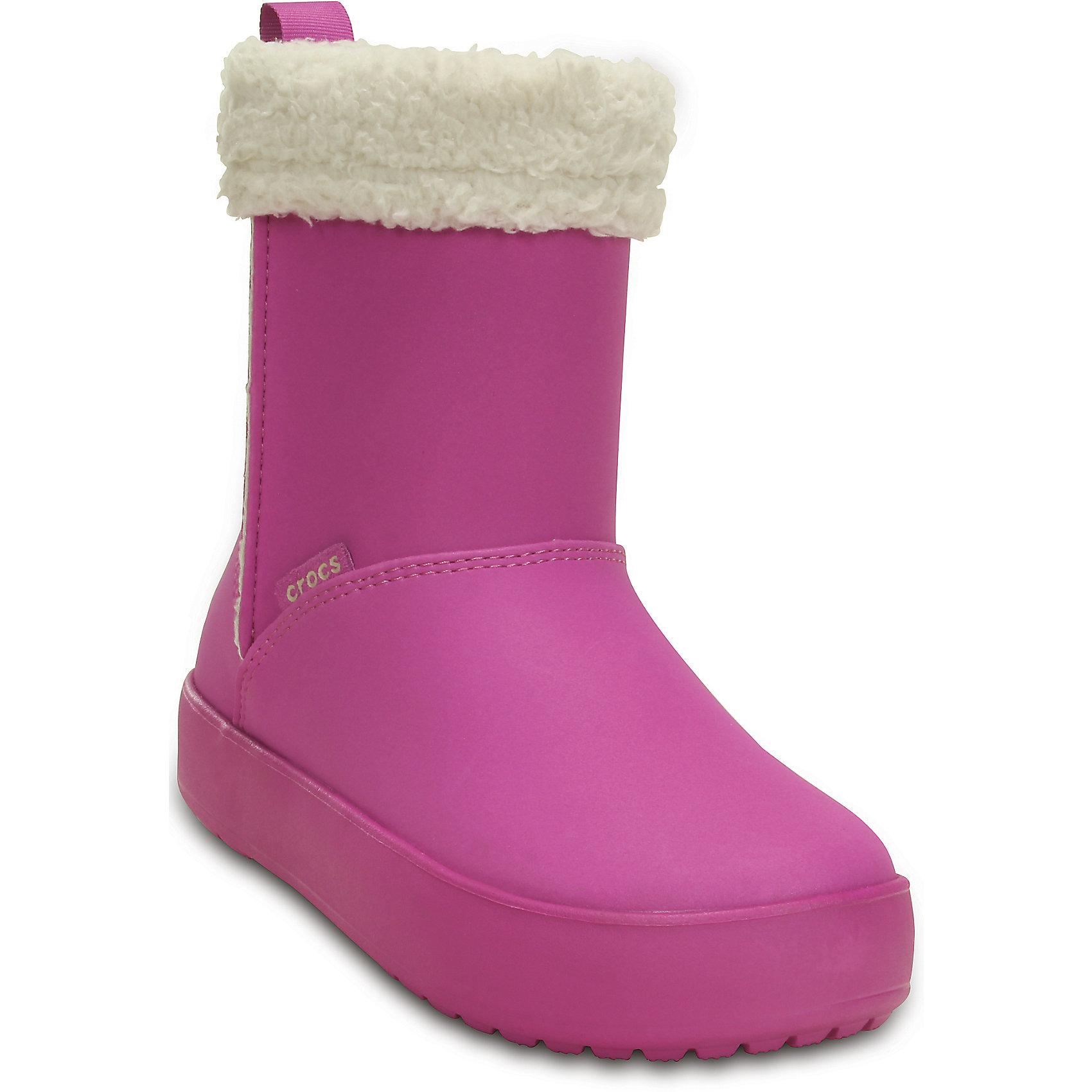 Сапожки для девочки Crocs