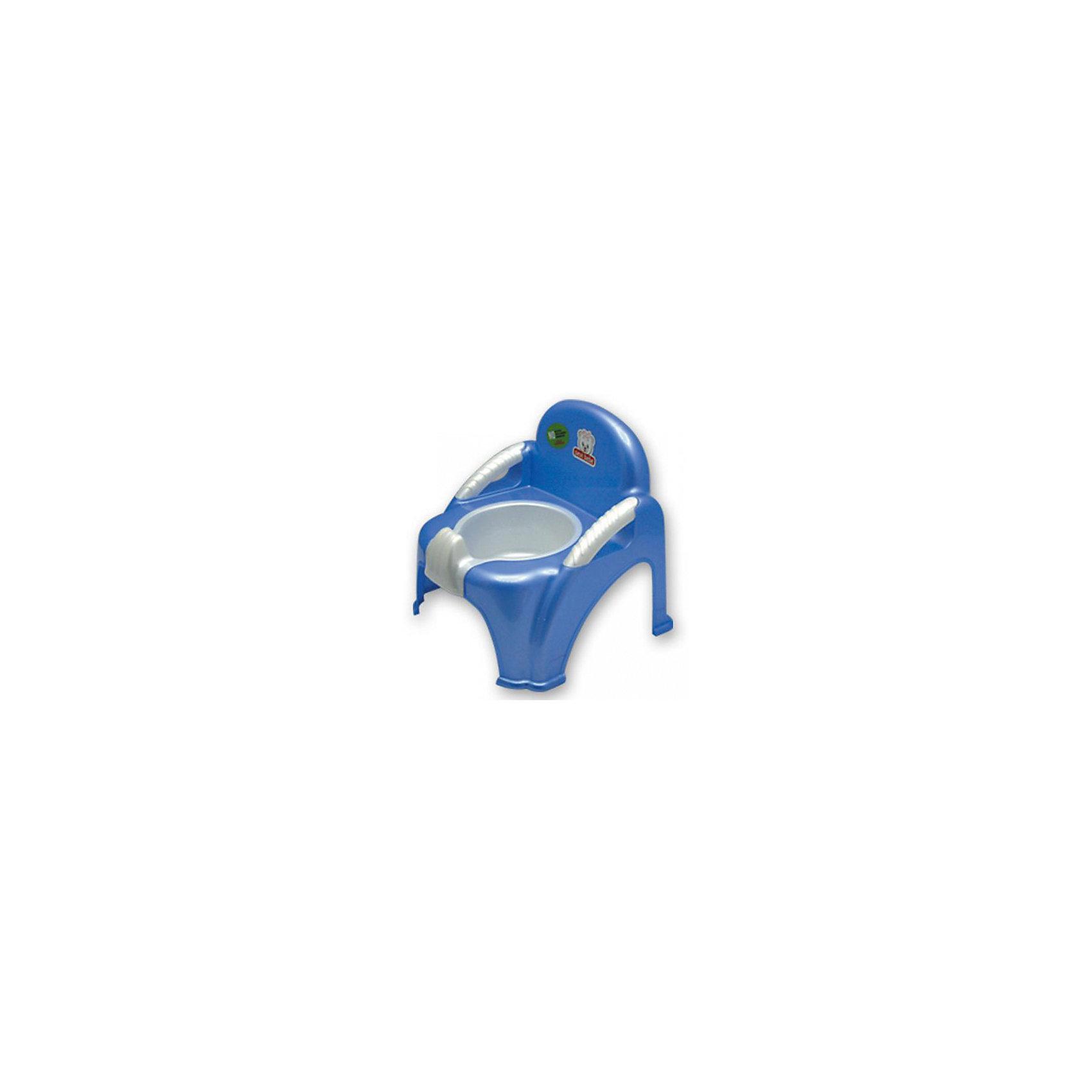 Горшок-стульчик Sevi baby, голубой