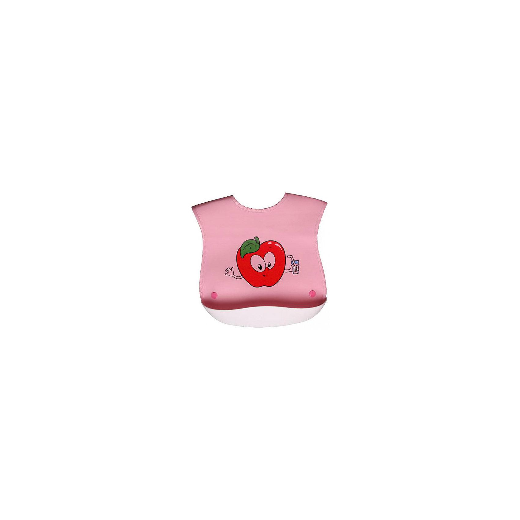 Нагрудник с кармашком прорезиненный Sevi baby, розовыйНагрудник с кармашком прорезиненный Sevi baby, розовый – яркий нагрудник сохранит одежду малыша чистой во время еды.<br>Нагрудник с кармашком Sevi baby обеспечит малышу чистоту и комфорт и освободит маму от лишних хлопот. Нагрудник сделан из мягкого пластика, с карманом, в который собирается упавшая пища. Очень мягкий, с застежкой-липучкой.<br><br>Дополнительная информация:<br><br>- Материал: пластик<br>- Цвет: розовый<br>- Размер упаковки: 36 х 24 х 5 см.<br>- ВНИМАНИЕ! Данный товар представлен в ассортименте. К сожалению, предварительный выбор невозможен. При заказе нескольких единиц данного товара, возможно получение одинаковых<br><br>Нагрудник с кармашком прорезиненный Sevi baby, розовый можно купить в нашем интернет-магазине.<br><br>Ширина мм: 360<br>Глубина мм: 240<br>Высота мм: 50<br>Вес г: 50<br>Цвет: розовый<br>Возраст от месяцев: 6<br>Возраст до месяцев: 24<br>Пол: Женский<br>Возраст: Детский<br>SKU: 4236873