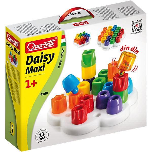 Мозаика Quercetti Макси, 21 детальМозаика<br>Характеристики товара:<br><br>• возраст: от 1 года;<br>• материал: пластмасса;<br>• количество деталей: 21;<br>• в наборе: 6 закругленных фишек, 4 квадратных, 4 цилиндрических, 6 фишек в форме цветка, фишка-погремушка; подставка в форме цветка; <br>• размер упаковки: 34х29х8 см.;<br>• вес упаковки: 800 гр.;<br>• страна бренда: Италия.<br><br>Мозаика Quercetti для самых маленьких «Макси» содержит элементы разных форм и цветов, которые можно объединить в башни или расположить горизонтально на специальной основе.<br><br>Детали легко ставить друг на друга и на платформу с помощью штырьков. Конструктор развивает цветовосприятие, логическое мышление, фантазию. Набор выполнен из прочного нетоксичного пластика.<br><br>Мозаика для самых маленьких «Макси», 21 деталь, Quercetti можно купить в нашем интернет-магазине.<br>Ширина мм: 349; Глубина мм: 296; Высота мм: 81; Вес г: 814; Возраст от месяцев: 48; Возраст до месяцев: 72; Пол: Женский; Возраст: Детский; SKU: 4238250;