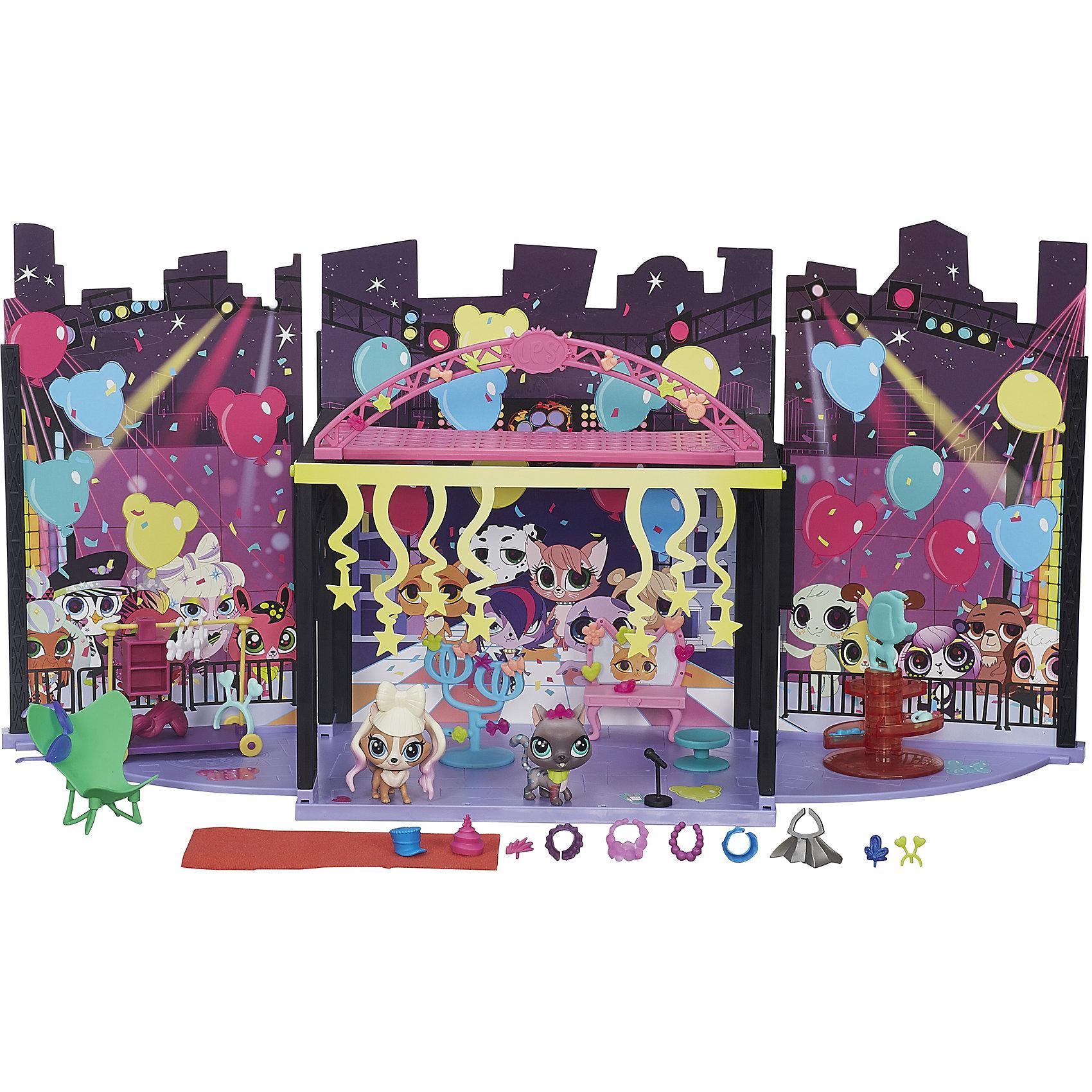 Hasbro Игровой набор За кулисами, Littlest Pet Shop hasbro стильный подиум для показа мод