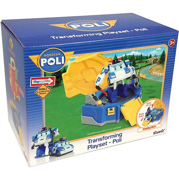 Кейс для трансформера Поли, 12 см, Робокар ПолиРобокар Поли<br>Дети обожают героев мультсериала Робокар Поли. Ваш малыш придет в восторг от такого кейса, ведь теперь у его любимого Поли есть свой домик! Яркий кейс выполнен из высококачественного прочного пластика, имеет удобную ручку, застегивается на два замочка, справиться с которыми смогут даже малыши. <br><br>Дополнительная информация:<br><br>- Материал: пластик.<br>- Размер: 12 см.<br>- Удобная ручка.<br>- Простые замки.  <br>- Машинка Поли в комплект не входит.<br><br>Кейс для трансформера Поли, 12 см, Робокар Поли (Robocar Poli ), можно купить в нашем магазине.<br>Ширина мм: 260; Глубина мм: 130; Высота мм: 180; Вес г: 600; Возраст от месяцев: 36; Возраст до месяцев: 84; Пол: Унисекс; Возраст: Детский; SKU: 4241507;