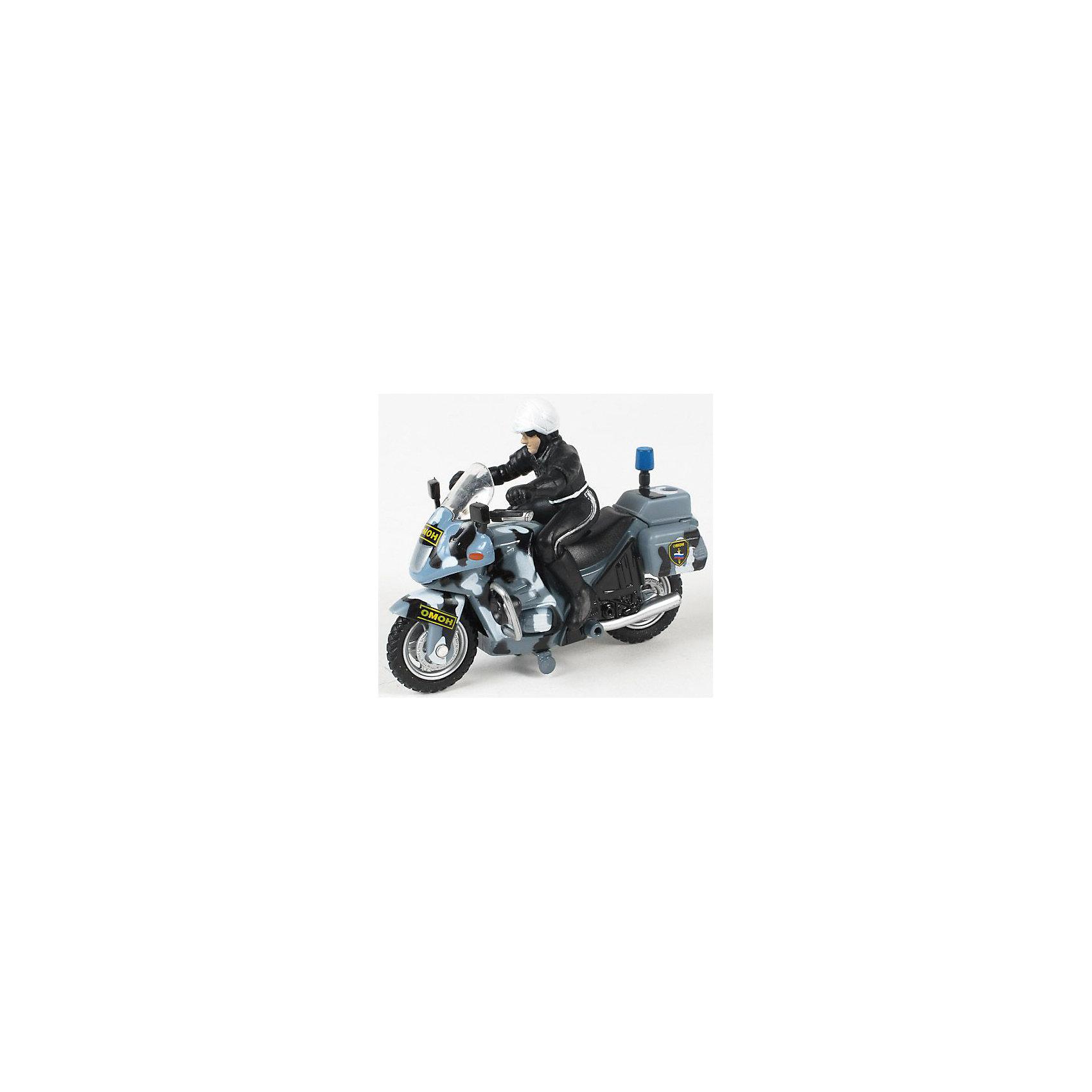 Мотоцикл Омон, с фигуркой, ТЕХНОПАРКМотоцикл с фигуркой  станет прекрасным подарком на любой праздник. Модель обладает высокой реалистичностью за счет детальной проработки. Мотоцикл снабжен инерционным механизмом. Игрушка выполнена из высококачественных гипоаллергенны материалов безопасных для детей. <br><br>Дополнительная информация:<br><br>- Материал: пластик, металл.<br>- Размер игрушки: 5x17x15 см.<br>- Инерционный механизм.<br><br>Мотоцикл ОМОН, с фигуркой, ТЕХНОПАРК, можно купить в нашем магазине.<br><br>Ширина мм: 50<br>Глубина мм: 170<br>Высота мм: 150<br>Вес г: 170<br>Возраст от месяцев: 36<br>Возраст до месяцев: 120<br>Пол: Мужской<br>Возраст: Детский<br>SKU: 4241512