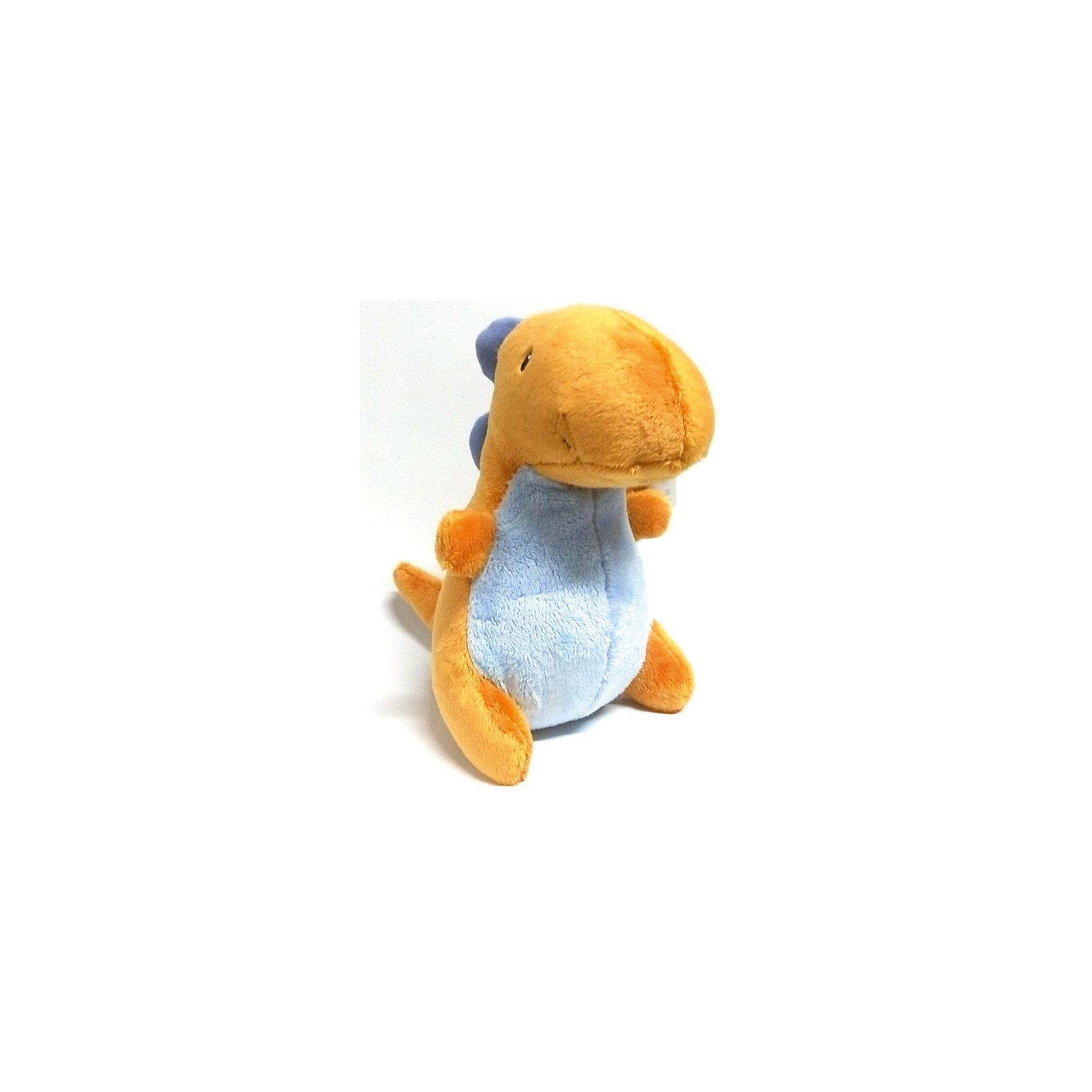 Динозаврик Crom, 26 см, GundЗвери и птицы<br>Динозаврик Crom, Gund - чудесная мягкая игрушка, которой будут рады дети любого возраста. Динозаврик выполнен из мягкого, приятного на ощупь материала. У него рыжая шерстка, добродушная мордочка и синие чешуйки на спине. Игрушка аккуратно сшита и отличается высоким качеством исполнения.<br><br>Дополнительная информация:<br><br>- Материал: искусственный мех, текстиль.<br>- Высота игрушки: 26 см.<br>- Размер игрушки: 18 x 12,5 x 26,5 см.<br>- Вес: 0,15 кг. <br><br>Динозаврика Crom, 26 см., Gund, можно купить в нашем интернет-магазине.<br><br>Ширина мм: 160<br>Глубина мм: 220<br>Высота мм: 265<br>Вес г: 150<br>Возраст от месяцев: 36<br>Возраст до месяцев: 120<br>Пол: Унисекс<br>Возраст: Детский<br>SKU: 4241899