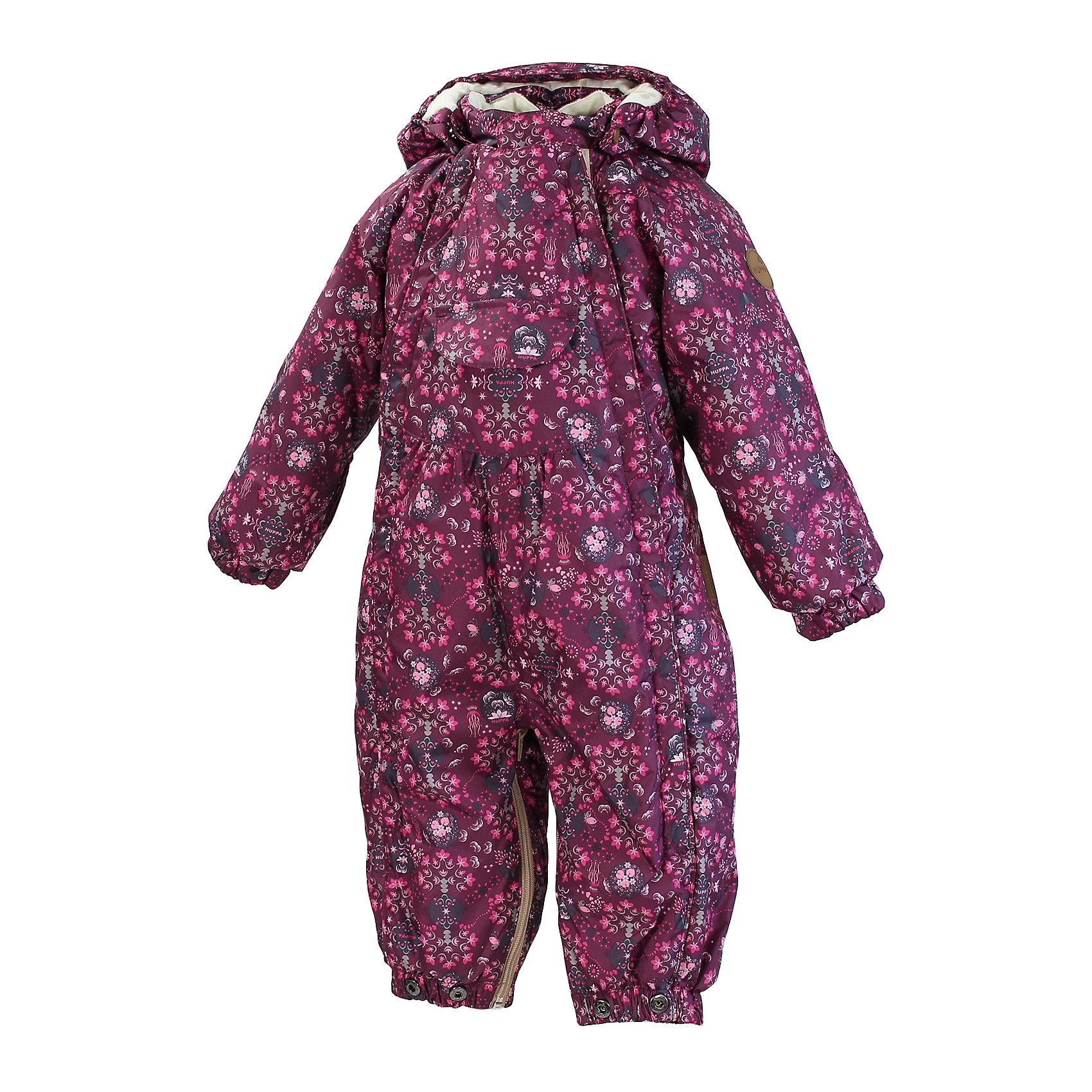 Конверт-трансформер для девочки HuppaТеплый спальный мешок-комбинезон для младенцев с приятно легким ватином для сладких послеобеденных снов и первых шагов ребенка. При помощи замка-молнии комбинезон легко превратить в спальный мешок и наоборот. У спального мешка-комбинезона подкладка из мягкой хлопковой фланели и подходящая для нашего климата, дышащая и водоотталкивающая ткань. Ребенка легко одеть благодаря двум замкам-молниям в полную длину. Проклеенные швы на задней части комбинезона позволят ребенку беззаботно играть на улице и наслаждаться сухостью и теплом. В дополнение к этому удобство спальному мешку-комбинезону добавляют съемный капюшон и силиконовые резинки для фиксации на обуви (для предотвращения попадания снега в голенища сапог). Концы рукавов можно всего парой движений завернуть назад, и варежки тогда не потребуются.<br>Huppa (Хуппа)Therm 200 грамм<br>Высокотехнологичный лёгкий синтетический утеплитель нового поколения, сохраняет объём и высокую теплоизоляцию изделия, а также легко стирается и быстро сохнет.<br>Влагоустойчивая и дышащая ткань 5000/ 5000<br>Мембрана препятствует прохождению воды и ветра сквозь ткань внутрь изделия, позволяя испаряться выделяемой телом, образовывающейся внутри влаге.<br>Светоотражательные детали<br>При плохих погодных условиях или в темноте, когда свет падает на одежду, он отражается, делая ребёнка более заметным, уменьшая возможность несчастных случаев.<br><br>Дополнительная информация:<br><br>Температурный режим: от 0° до -15°С<br>Ткань: 100% полиэстер<br>Подкладка: фланель - 100% хлопок<br>Утеплитель: 100% полиэстер 200г.<br>Шаговый шов проклеен<br>Манжеты с отворотом<br><br><br><br>Конверт-трансформер для девочки Huppa (Хуппа) можно купить в нашем магазине.<br><br>Ширина мм: 356<br>Глубина мм: 10<br>Высота мм: 245<br>Вес г: 519<br>Цвет: бордовый<br>Возраст от месяцев: 6<br>Возраст до месяцев: 9<br>Пол: Женский<br>Возраст: Детский<br>Размер: 74,68<br>SKU: 4242537