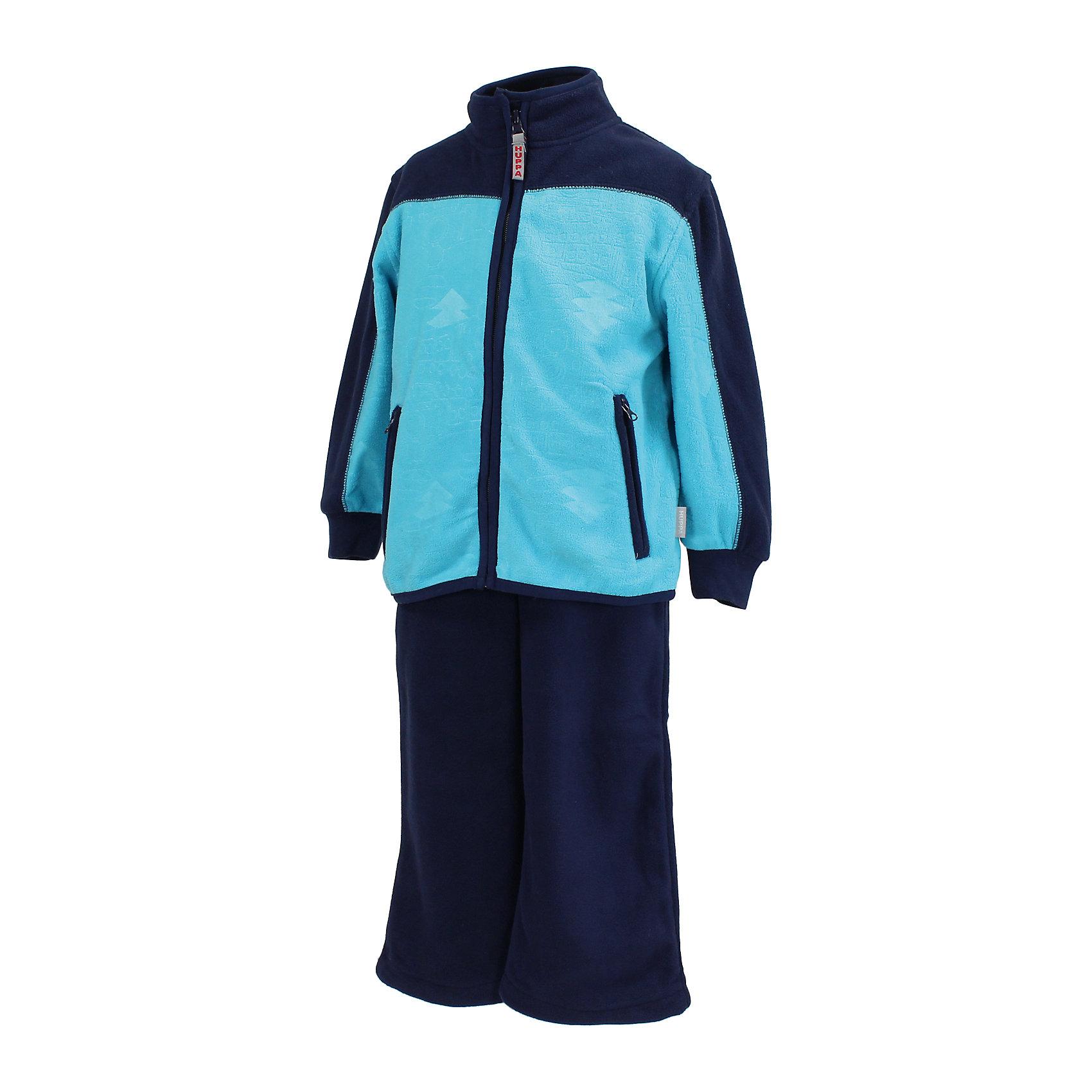 Комплект для мальчика: куртка и брюки HuppaМягкий флисовый комплект для детей, в котором будет приятно играть в прохладную погоду. Комплект идеально подходит и для надевания под верхнюю одежду. Для удобства ношения на куртке имеются карманы на молнии и рукава с резинкой, а на брюках регулируемый пояс и нижние концы штанин. <br><br>Дополнительная информация:<br><br>Ткань: флис - 100% полиэстер<br><br>Комплект для мальчика: Куртку и брюки Huppa (Хуппа) можно купить в нашем магазине.<br><br>Ширина мм: 356<br>Глубина мм: 10<br>Высота мм: 245<br>Вес г: 519<br>Цвет: синий<br>Возраст от месяцев: 84<br>Возраст до месяцев: 96<br>Пол: Мужской<br>Возраст: Детский<br>Размер: 128,98,104,110,116,134,122<br>SKU: 4242715