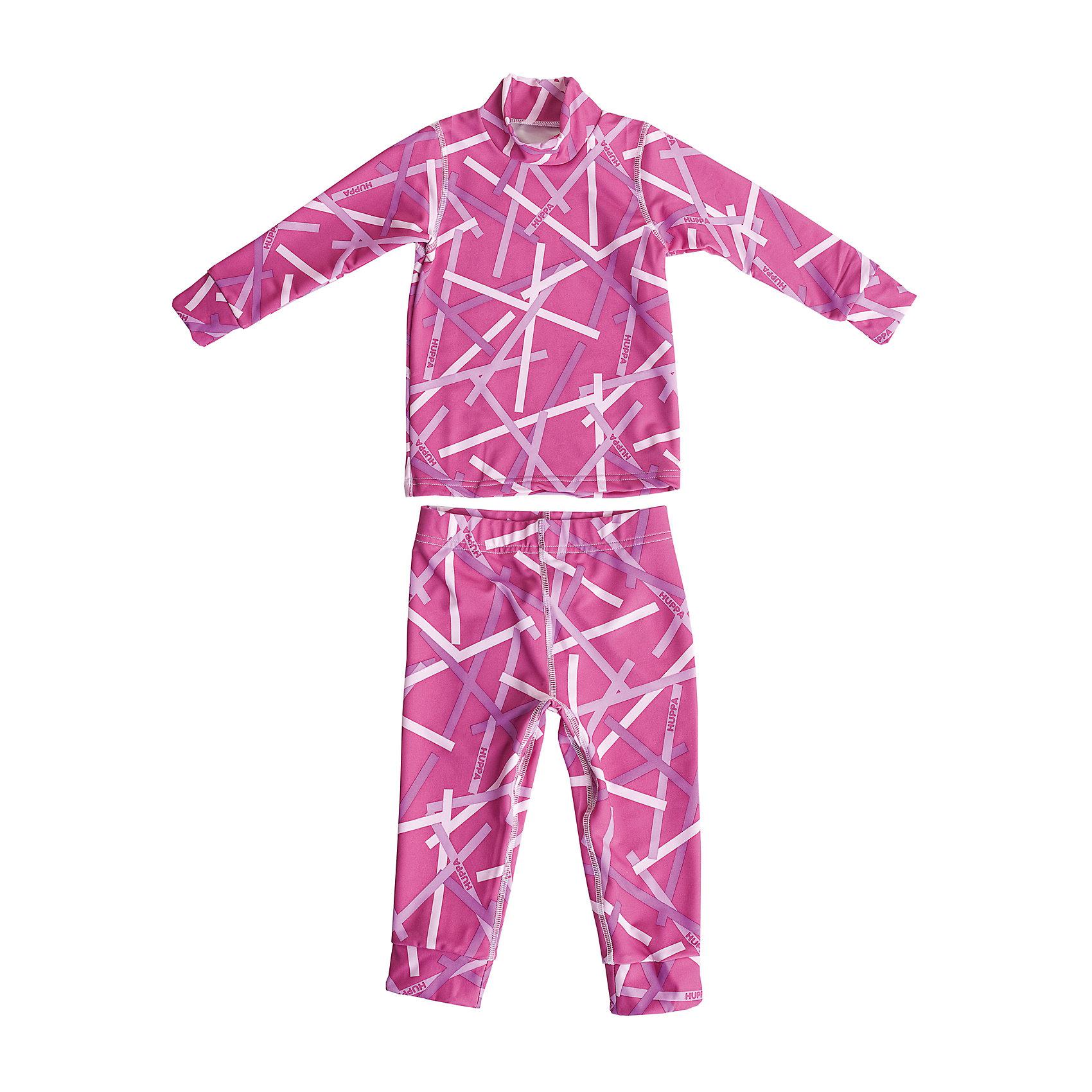 Комплект для девочки: толстовка и брюки HuppaТермобелье для девочки с интересным узором. Материал термобелья реагирует на температуру тела, соответственно согревая его или охлаждая, и поэтому хорошо подходит для ношения под одеждой в холодную зимнюю погоду.<br><br>Дополнительная информация:<br><br>Ткань: флис - 93% полиэстер, 7% эластан<br>Ткань способна регулировать теплообмен и влагообмен тела<br><br>Комплект для девочки: толстовка и брюки Huppa (Хуппа) можно купить в нашем магазине.<br><br>Ширина мм: 190<br>Глубина мм: 74<br>Высота мм: 229<br>Вес г: 236<br>Цвет: розовый<br>Возраст от месяцев: 48<br>Возраст до месяцев: 60<br>Пол: Женский<br>Возраст: Детский<br>Размер: 152/158,128/134,104/110,164/170,140/146,116/122,92/98<br>SKU: 4242731