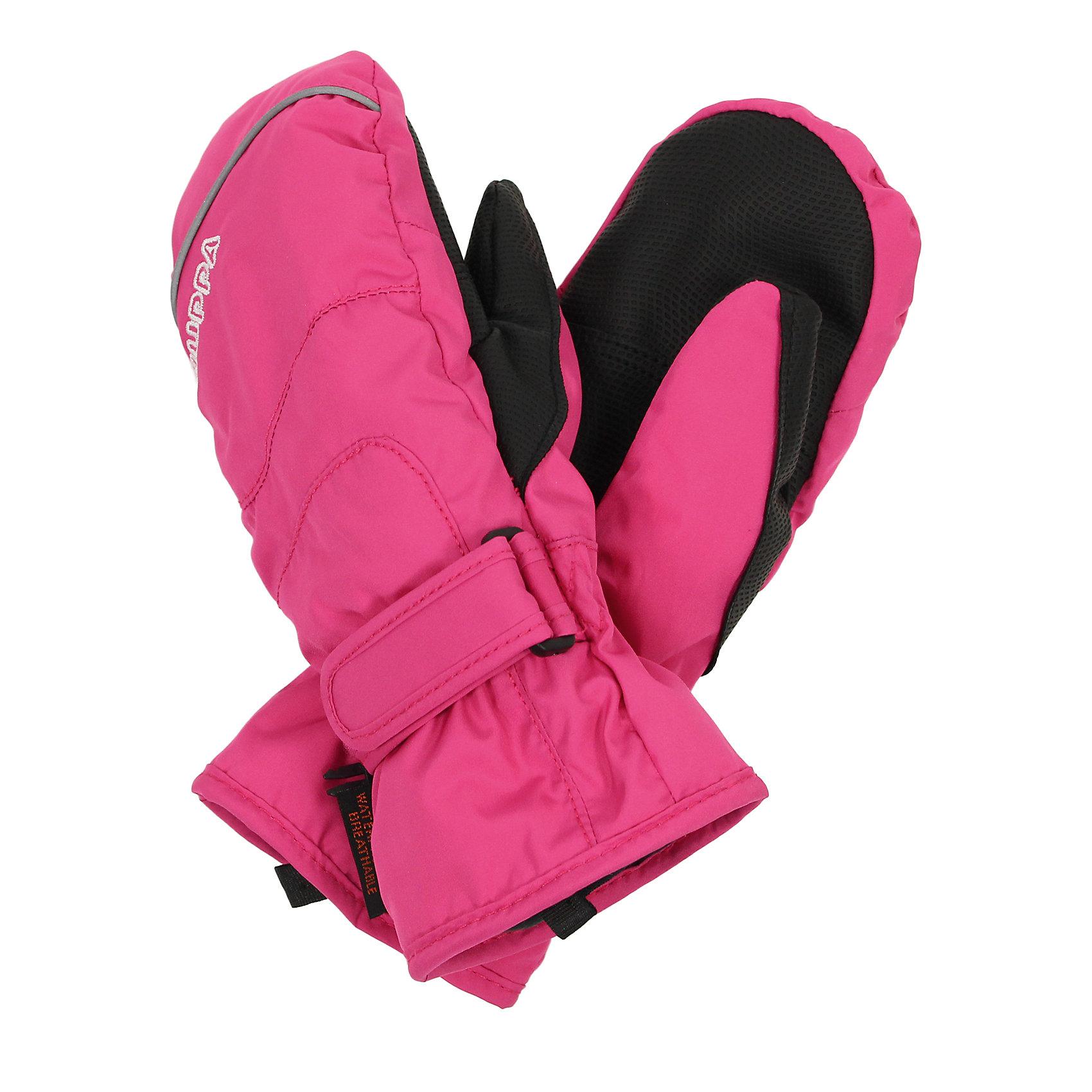 Варежки для девочки HuppaПерчатки, варежки<br>Детские водонепроницаемые зимние варежки с интересными разрезами. У варежек приятная подкладка из полиэстера, в качестве промежуточного слоя - мембрана SKI DRY и хорошо дышащая и водоотталкивающая ткань, которая поможет держать руки в сухости и тепле. Для удобства использования на запястье добавлена регулируемая застежка-липучка, а в качестве украшения добавлена красивая вышивка Huppa (Хуппа) и светоотражающая лента в разрез пальца. Маленькие зажимы в средней части помогут держать пару варежек вместе после использования. <br><br>Варежки для девочки Huppa (Хуппа) можно купить в нашем магазине.<br><br>Ширина мм: 162<br>Глубина мм: 171<br>Высота мм: 55<br>Вес г: 119<br>Цвет: розовый<br>Возраст от месяцев: 144<br>Возраст до месяцев: 168<br>Пол: Женский<br>Возраст: Детский<br>Размер: 8,7,5,6<br>SKU: 4242769