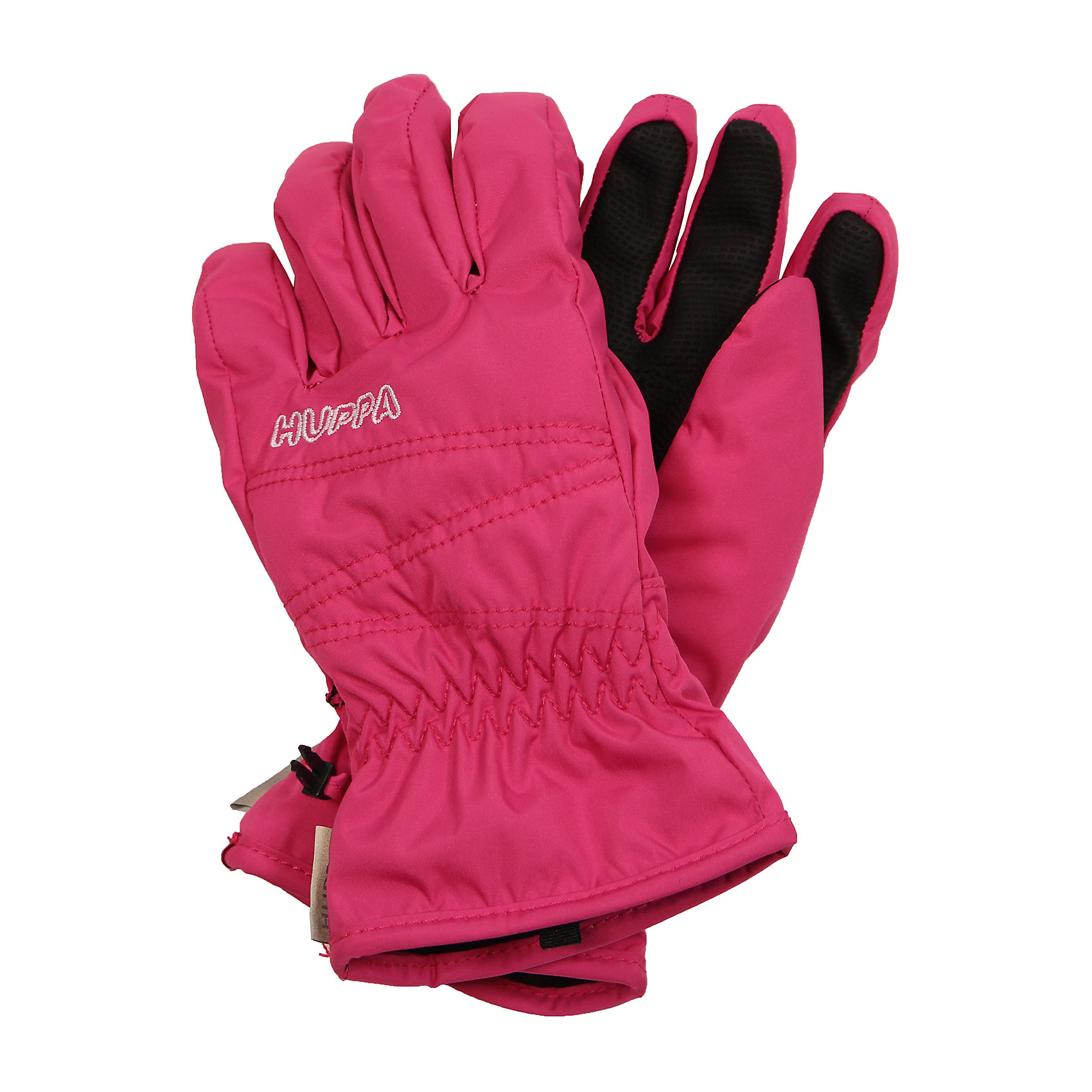Перчатки для девочки HuppaПерчатки, варежки<br>Детские классические перчатки. У перчаток приятная подкладка из полиэстера и хорошо дышащая и водоотталкивающая ткань, которая поможет держать руки в сухости и тепле. Для удобства использования на запястье добавлена резинка, которая поможет перчаткам надежно держаться на руках, а в качестве украшения - красивая вышивка. Маленькие зажимы в средней части помогут держать пару варежек вместе после использования. <br><br>Перчатки для девочки Huppa (Хуппа) можно купить в нашем магазине.<br><br>Ширина мм: 162<br>Глубина мм: 171<br>Высота мм: 55<br>Вес г: 119<br>Цвет: розовый<br>Возраст от месяцев: 120<br>Возраст до месяцев: 144<br>Пол: Женский<br>Возраст: Детский<br>Размер: 7,3,4,8,6,5<br>SKU: 4242860