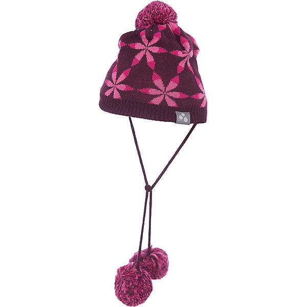 Шапка для девочки HuppaШапочки<br>Красивая зимняя шапка для маленьких девочек с вывязанным рисунком. Для удобства ношения у шапки приятная подкладка из хлопкового трикотажа, наружная часть из смеси 50% мериносовой шерсти и 50% акриловой пряжи. Более интересной шапку делают ленты с помпонами и помпон сверху.<br><br>Шапку для девочки Huppa (Хуппа) можно купить в нашем магазине.<br><br>Ширина мм: 89<br>Глубина мм: 117<br>Высота мм: 44<br>Вес г: 155<br>Цвет: розовый<br>Возраст от месяцев: 9<br>Возраст до месяцев: 12<br>Пол: Женский<br>Возраст: Детский<br>Размер: 43-45,51-53,47-49<br>SKU: 4242952