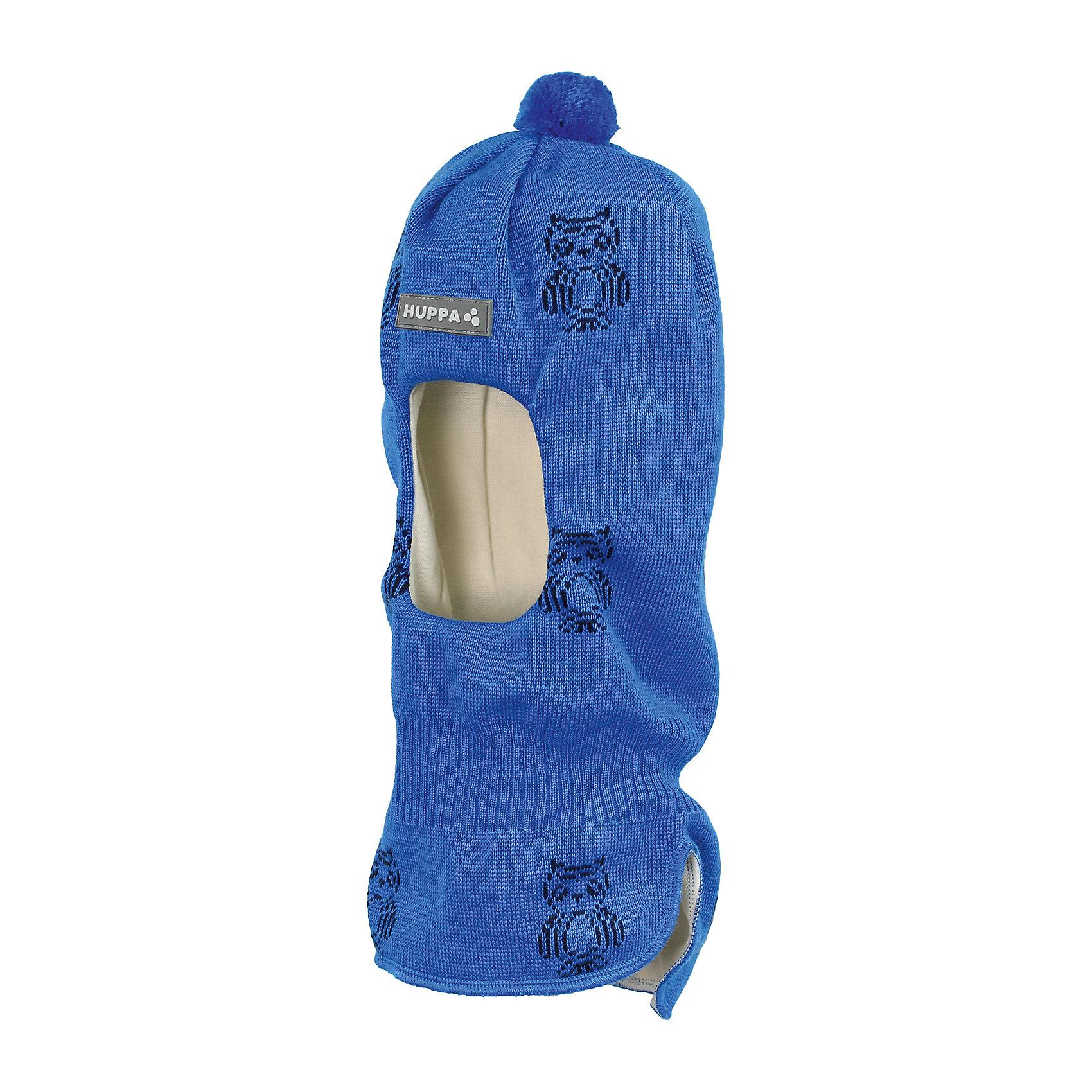 Шапка-шлем для мальчика HuppaГоловные уборы<br>Вязаная шапка-шлем с симпатичными совами для малышей. У шапки подкладка из хлопкового трикотажа, наружная часть из смеси 50% мериносовой шерсти и 50% акриловой пряжи. Шапка-шлем с одним помпоном идеальна для прогулок во дворе в зимние холода, потому что защищает шею и уши ребенка от холодного ветра. Особенно удобно ее надевать ребенку самому, потому что вместо двух аксессуаров нужно надеть только один.<br><br>Шапку-шлем для мальчика Huppa (Хуппа) можно купить в нашем магазине.<br><br>Ширина мм: 89<br>Глубина мм: 117<br>Высота мм: 44<br>Вес г: 155<br>Цвет: синий<br>Возраст от месяцев: 9<br>Возраст до месяцев: 12<br>Пол: Мужской<br>Возраст: Детский<br>Размер: 43-45,47-49,51-53<br>SKU: 4243032
