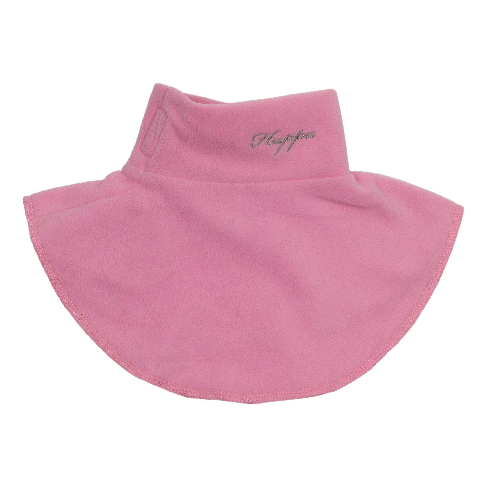 Манишка для девочки HuppaШарфы, платки<br>Детский воротник из мягкого флиса ярких оттенков, который все дети с удовольствием наденут под верхнюю одежду. Для удобства ношения на воротнике имеется застежка-липучка. Воротник хорошо подходит для прогулок во дворе, потому что защищает шею от ветра и ребенку легко его надевать самому.<br><br>Дополнительная информация:<br><br>Ткань: флис - 100% полиэстер<br><br>Манишку для девочки Huppa (Хуппа) можно купить в нашем магазине.<br><br>Ширина мм: 89<br>Глубина мм: 117<br>Высота мм: 44<br>Вес г: 155<br>Цвет: розовый<br>Возраст от месяцев: 0<br>Возраст до месяцев: 6<br>Пол: Женский<br>Возраст: Детский<br>Размер: one size<br>SKU: 4243078