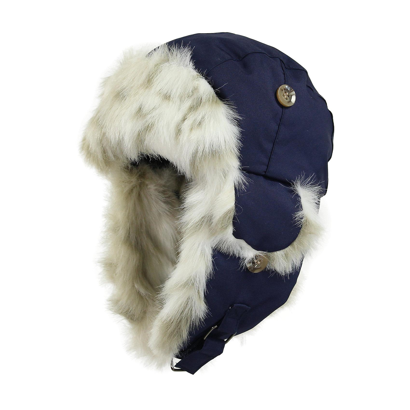 Шапка для мальчика HuppaДетская зимняя шапка ярких цветов с легким ватином. У шапки подкладка из искусственного меха (80% акрила, 20% полиэстера) и дышащая - водоотталкивающая ткань из полиэстера. Для удобства ношения у шапки регулируемая верхняя часть и закрепляющиеся липучкой под подбородком клапаны. Как большие, так и маленькие клапаны можно закрепить на макушке, благодаря чему у одной шапки имеется несколько возможностей ношения. <br><br>Шапку для мальчика Huppa (Хуппа) можно купить в нашем магазине.<br><br>Ширина мм: 89<br>Глубина мм: 117<br>Высота мм: 44<br>Вес г: 155<br>Цвет: синий<br>Возраст от месяцев: 12<br>Возраст до месяцев: 24<br>Пол: Мужской<br>Возраст: Детский<br>Размер: 47-49,55-57,51-53<br>SKU: 4243106