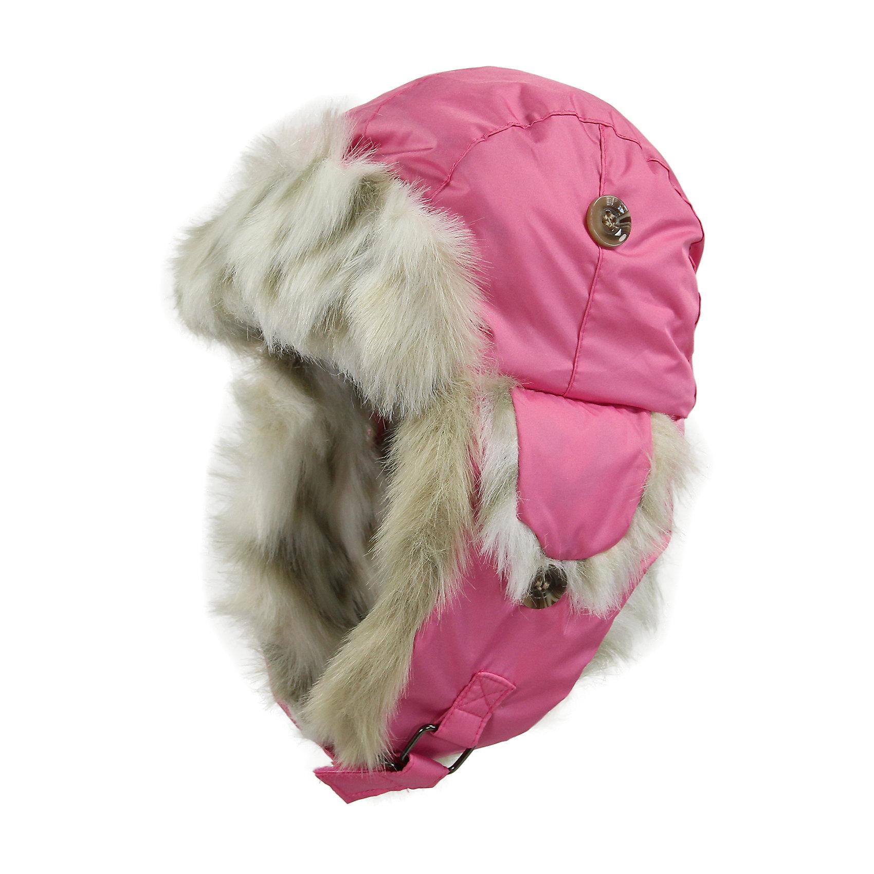 Шапка для девочки HuppaШапочки<br>Зимняя шапка ярких цветов с легким ватином для малышей. У шапки подкладка из искусственного меха (80% акрила, 20% полиэстера) и дышащая - водоотталкивающая мягкая ткань из полиэстера. Для удобства ношения у шапки регулируемая верхняя часть и закрепляющиеся липучкой под подбородком клапаны. Клапаны шапки можно закрепить на макушке, приспосабливая для себя. <br><br>Шапку для девочки Huppa (Хуппа) можно купить в нашем магазине.<br><br>Ширина мм: 89<br>Глубина мм: 117<br>Высота мм: 44<br>Вес г: 155<br>Цвет: розовый<br>Возраст от месяцев: 2<br>Возраст до месяцев: 5<br>Пол: Женский<br>Возраст: Детский<br>Размер: 39-43,47-49,51-53,43-45<br>SKU: 4243110