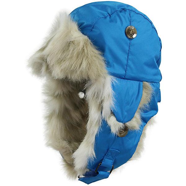 Шапка для мальчика HuppaШапочки<br>Зимняя шапка ярких цветов с легким ватином для малышей. У шапки подкладка из искусственного меха (80% акрила, 20% полиэстера) и дышащая - водоотталкивающая мягкая ткань из полиэстера. Для удобства ношения у шапки регулируемая верхняя часть и закрепляющиеся липучкой под подбородком клапаны. Клапаны шапки можно закрепить на макушке, приспосабливая для себя. <br><br>Шапку для мальчика Huppa (Хуппа) можно купить в нашем магазине.<br><br>Ширина мм: 89<br>Глубина мм: 117<br>Высота мм: 44<br>Вес г: 155<br>Цвет: голубой<br>Возраст от месяцев: 2<br>Возраст до месяцев: 5<br>Пол: Мужской<br>Возраст: Детский<br>Размер: 39-43,51-53,43-45,47-49<br>SKU: 4243115