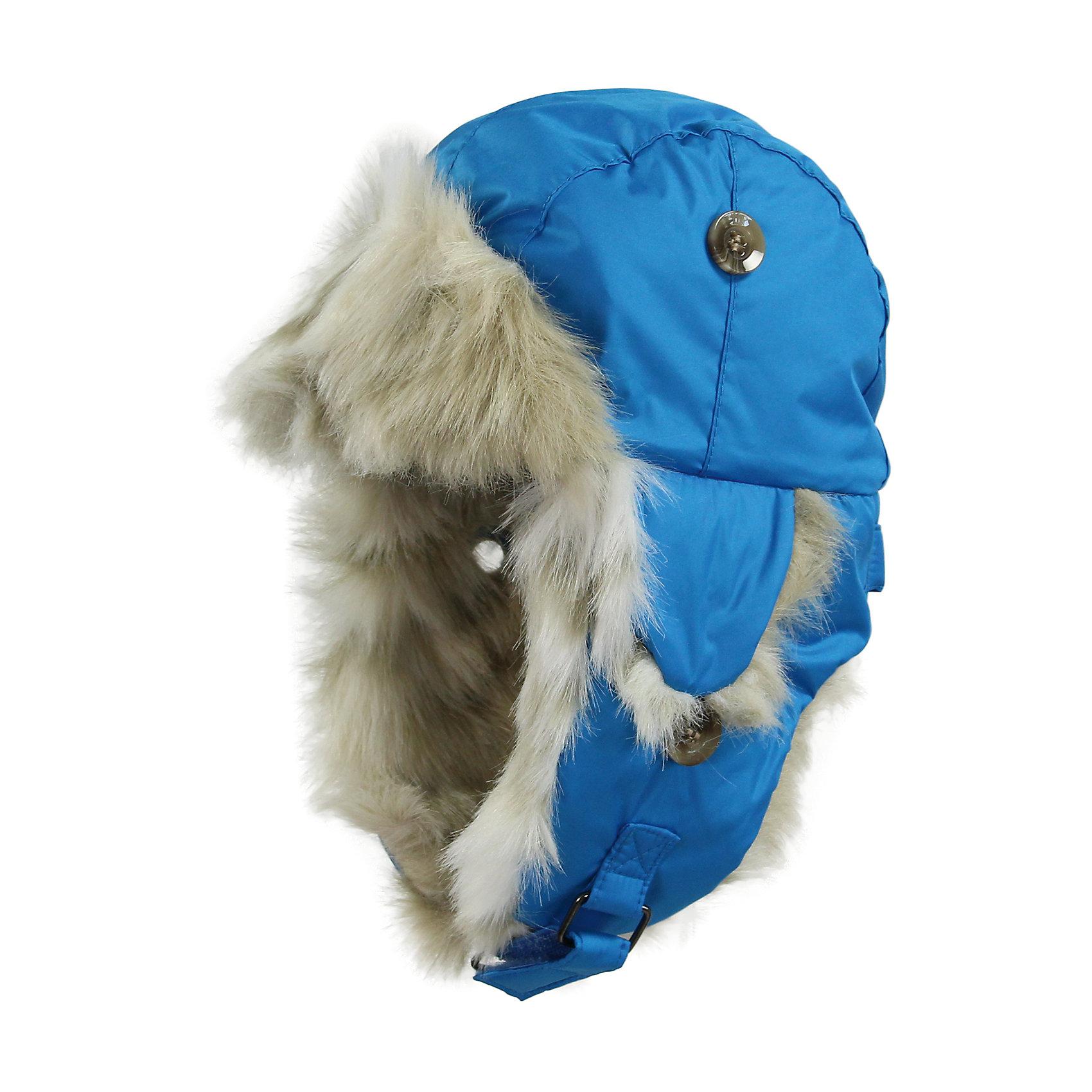 Шапка для мальчика HuppaШапочки<br>Зимняя шапка ярких цветов с легким ватином для малышей. У шапки подкладка из искусственного меха (80% акрила, 20% полиэстера) и дышащая - водоотталкивающая мягкая ткань из полиэстера. Для удобства ношения у шапки регулируемая верхняя часть и закрепляющиеся липучкой под подбородком клапаны. Клапаны шапки можно закрепить на макушке, приспосабливая для себя. <br><br>Шапку для мальчика Huppa (Хуппа) можно купить в нашем магазине.<br><br>Ширина мм: 89<br>Глубина мм: 117<br>Высота мм: 44<br>Вес г: 155<br>Цвет: голубой<br>Возраст от месяцев: 9<br>Возраст до месяцев: 12<br>Пол: Мужской<br>Возраст: Детский<br>Размер: 43-45,47-49,39-43,51-53<br>SKU: 4243115