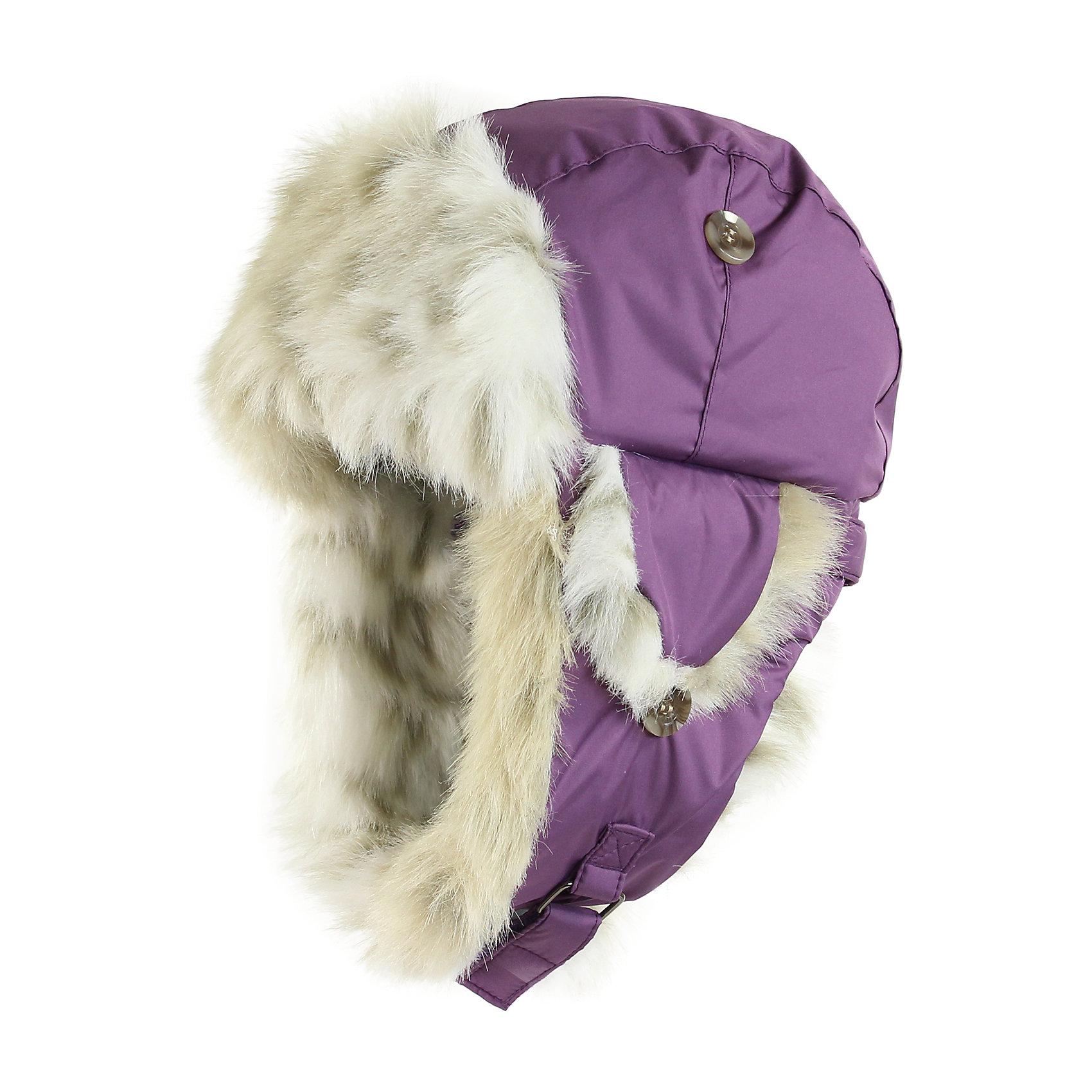 Шапка для девочки HuppaЗимние<br>Зимняя шапка ярких цветов с легким ватином для малышей. У шапки подкладка из искусственного меха (80% акрила, 20% полиэстера) и дышащая - водоотталкивающая мягкая ткань из полиэстера. Для удобства ношения у шапки регулируемая верхняя часть и закрепляющиеся липучкой под подбородком клапаны. Клапаны шапки можно закрепить на макушке, приспосабливая для себя. <br><br>Шапку для девочки Huppa (Хуппа) можно купить в нашем магазине.<br><br>Ширина мм: 89<br>Глубина мм: 117<br>Высота мм: 44<br>Вес г: 155<br>Цвет: фиолетовый<br>Возраст от месяцев: 2<br>Возраст до месяцев: 5<br>Пол: Женский<br>Возраст: Детский<br>Размер: 39-43,47-49,43-45,51-53<br>SKU: 4243120