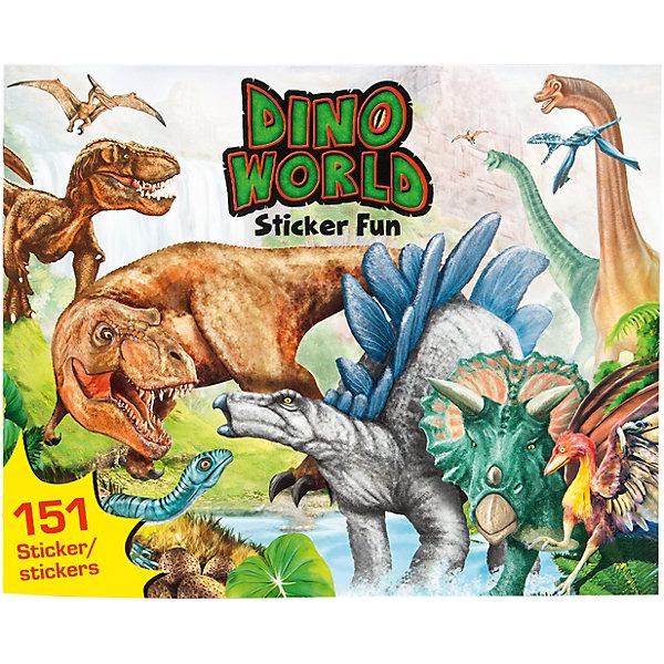 Альбом с наклейками, Создай свой мир Динозавров, Creative StudioКнижки с наклейками<br>Альбом с наклейками, Создай свой мир Динозавров, Creative Studio<br><br>Характеристики:<br><br>• В комплекте: раскраска, 3 листа с наклейками<br>• Возраст: от 3 до 6 лет<br>• Количество страниц: 24<br>• Размер: 30х24,5<br><br>Этот альбом «Создай свой мир Динозавров» из серии CreativeStudio содержит 24 листа с различными сюжетами из прошлого, где жили и охотились динозавры. На 3 листах с наклейками ребенок обнаружит вещи, которые помогут сделать мир Динозавров реалистичным и разнообразить игру. Эта книга помогает развитию воображения вашего ребенка и его мелкой моторики. <br><br>Альбом с наклейками, Создай свой мир Динозавров, Creative Studio можно купить в нашем интернет-магазине.<br><br>Ширина мм: 308<br>Глубина мм: 246<br>Высота мм: 15<br>Вес г: 235<br>Возраст от месяцев: 60<br>Возраст до месяцев: 108<br>Пол: Мужской<br>Возраст: Детский<br>SKU: 4243137