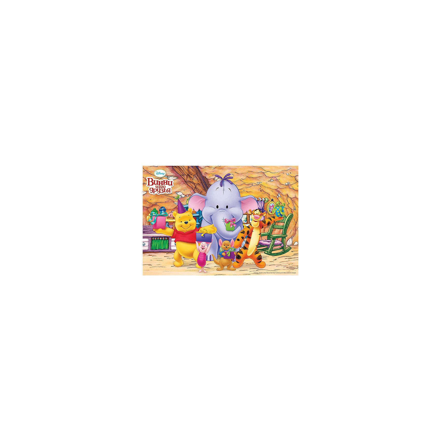 3D-наклейка Веселый праздник, Винни Пух ДиснейЗабавные герои популярных диснеевских мультфильмов о Винни-Пухе собрались поздравить Вашего малыша с днем рождения. С собой они принесли отличное настроение и, конечно же, подарки в нарядных коробочках. Красочная 3D-наклейка Веселый праздник, Винни Пух Disney, замечательно украсит комнату ребенка и поможет создать веселую праздничную атмосферу. Наклейка прочно крепится на стену с помощью специальных клеевых точек (входят в комплект). Выполнена из нетоксичного экологичного материала, не повреждает поверхность и безопасна для окрашенных стен. Подходят для поверхностей: дерево, плитка, металл, стекло, обои, пластик.<br><br>Дополнительная информация:<br><br>- Материал: пластик (ПЭТ).<br>- Размер: 35 х 50 см.<br>- Вес: 200 гр.<br><br>3D-наклейку Веселый праздник, Винни Пух Дисней, Decoretto, можно купить в нашем интернет-магазине.<br><br>Ширина мм: 350<br>Глубина мм: 480<br>Высота мм: 3<br>Вес г: 200<br>Возраст от месяцев: 36<br>Возраст до месяцев: 72<br>Пол: Унисекс<br>Возраст: Детский<br>SKU: 4243311