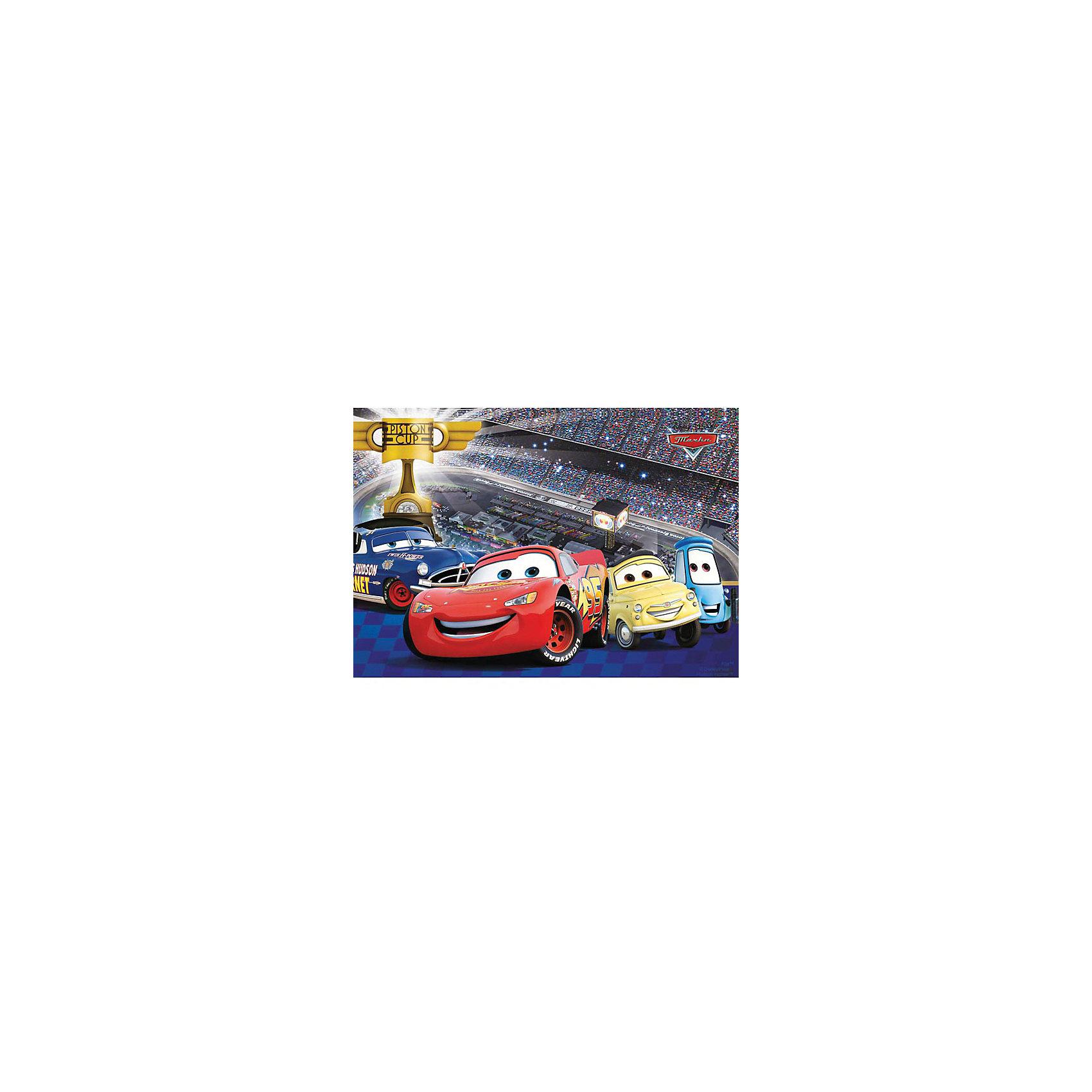 3D-наклейка Гоночная команда, Disney ТачкиЗнакомые герои популярного диснеевского мультфильма Тачки (Cars) собрались на ежегодные грандиозные гонки на кубок Поршня. Здесь и знаменитый Молния МакКуин, и малыш Гвидо, ворчливый Док Хадсон и эмоциональный Луиджи. Красочная 3D-наклейка Гоночная команда, Disney Тачки, станет замечательным украшением интерьера детской комнаты, особенно если Ваш ребенок поклонник популярных диснеевских машинок. Наклейка прочно крепится на стену с помощью специальных клеевых точек (входят в комплект). Выполнена из нетоксичного экологичного материала, не повреждает поверхность и безопасна для окрашенных стен. Подходят для поверхностей: дерево, плитка, металл, стекло, обои, пластик.<br><br>Дополнительная информация:<br><br>- Материал: пластик (ПЭТ).<br>- Размер: 35 х 48 см.<br>- Вес: 200 гр.<br><br>3D-наклейка Гоночная команда, Disney Тачки, Decoretto, можно купить в нашем интернет-магазине.<br><br>Ширина мм: 350<br>Глубина мм: 480<br>Высота мм: 3<br>Вес г: 200<br>Возраст от месяцев: 36<br>Возраст до месяцев: 72<br>Пол: Унисекс<br>Возраст: Детский<br>SKU: 4243312