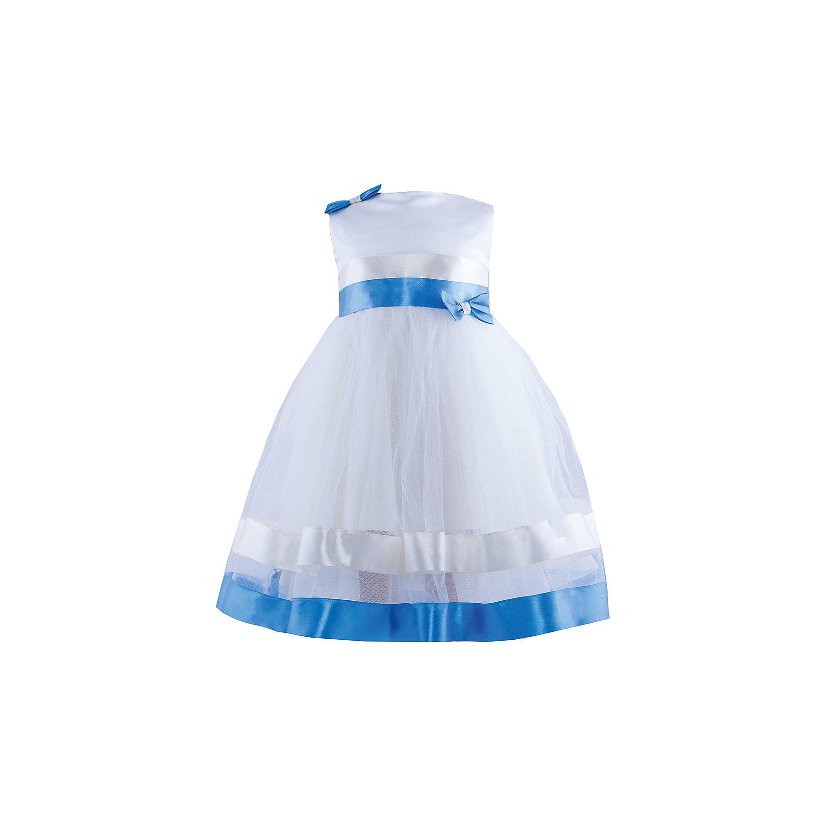 Нарядное платье ШармельНарядное детское платье млочного-синего цвета с многослойной пышной юбкой. <br>Верх корсетный, выполнен из атласа с украшением в виде бантика. Платье  идеально для всех для всех торжественных случаев. Идеально садиться на любую фигуру, так как возможна утяжка.<br>Юбка фатиновая украшена атласными ленточками и бантиками.<br>Платье идеально для любого торжества. <br>Состав: 100% полиэстер; подкл.: 100% хлопок<br><br>Ширина мм: 236<br>Глубина мм: 16<br>Высота мм: 184<br>Вес г: 177<br>Цвет: бежевый<br>Возраст от месяцев: 24<br>Возраст до месяцев: 36<br>Пол: Женский<br>Возраст: Детский<br>Размер: 92/98,104/116<br>SKU: 4243396