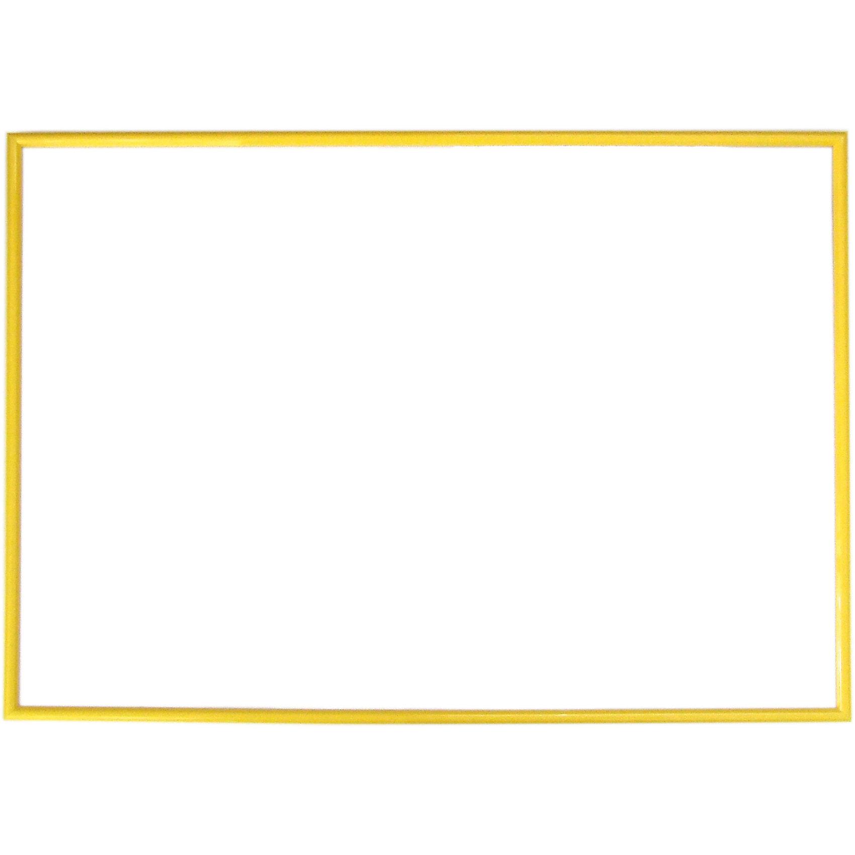 Рамка для пазла 500 деталей, 35х50 см, желтая