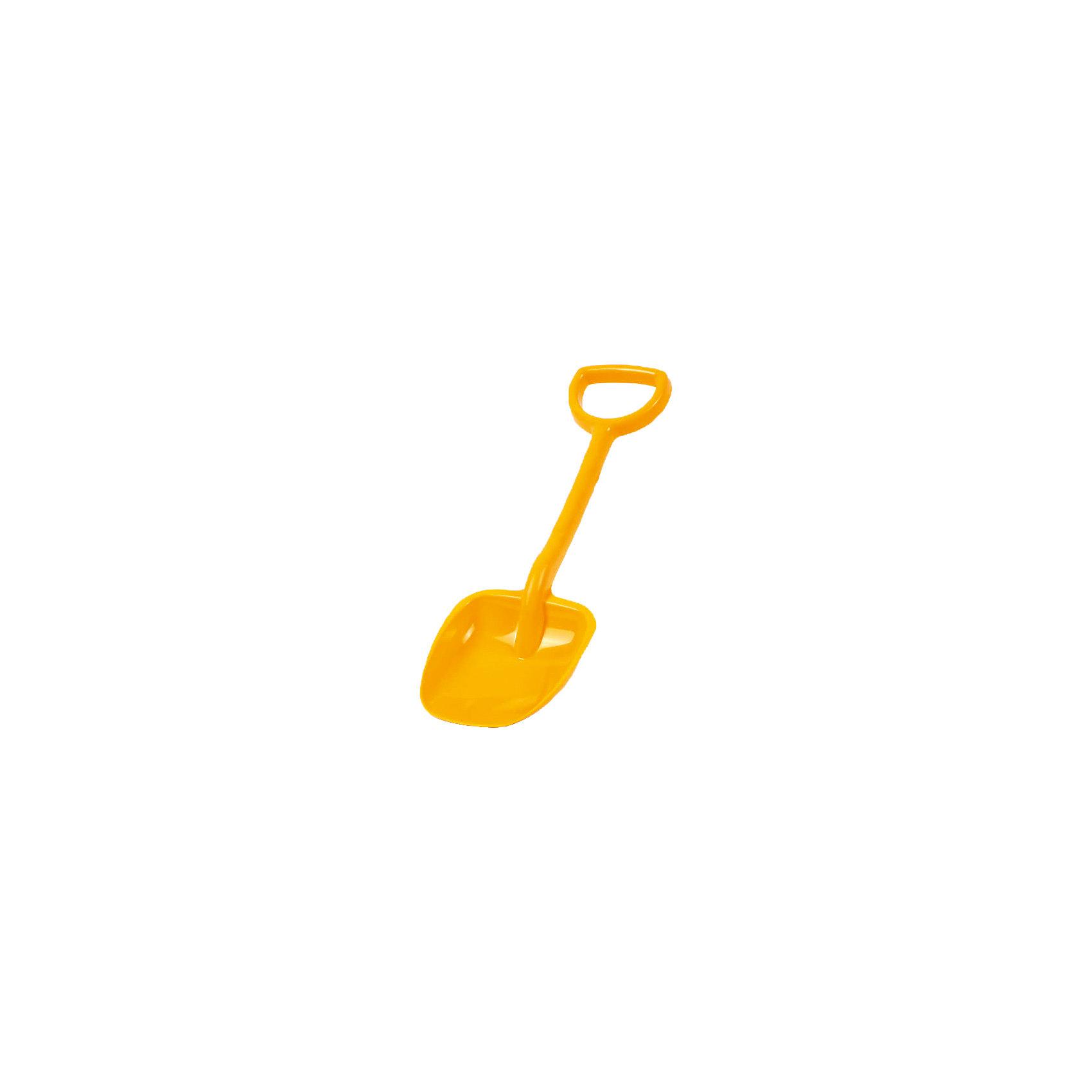 - Детская лопата, желтая, 48 см. лопата truper pcl pe 31174