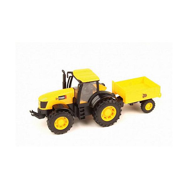 Трактор, JCBМашинки<br>Трактор, JCB - это уменьшенная модель настоящей строительной техники от компании JCB, выполненная в высоком качестве и с большим вниманием к деталям. В этой модели есть все основные функции, которыми обладает реальная машина. Трактор оснащен просторной застекленной кабиной с сиденьем водителя, спереди имеется фаркоп. Дополнительные детали, такие как лесенка в кабину, выхлопная труба, зеркало заднего вида, придают машине особую реалистичность. Прицеп сзади можно заполнять песком или мелкими предметам, что делает игрушку особенно интересной для игр на улице. Мощные прорезиненные колеса обеспечивают прочное сцепление с поверхностью и уберегает напольное покрытие от царапин. Игрушка изготовлена из высококачественной прочной пластмассы, ребенок сможет ещё дольше играть с ней, не боясь поломок.<br><br>Дополнительная информация:<br><br>- Материал: высококачественный пластик.<br>- Масштаб 1:32.<br>- Размер игрушки: 17,5 х 6 х 7 см.<br>- Размер упаковки: 21,2 x 9,2 x 8 см.<br>- Вес: 0,221 кг.<br><br>Трактор, JCB, можно купить в нашем интернет-магазине.<br>Ширина мм: 175; Глубина мм: 60; Высота мм: 70; Вес г: 221; Возраст от месяцев: 36; Возраст до месяцев: 96; Пол: Мужской; Возраст: Детский; SKU: 4244444;