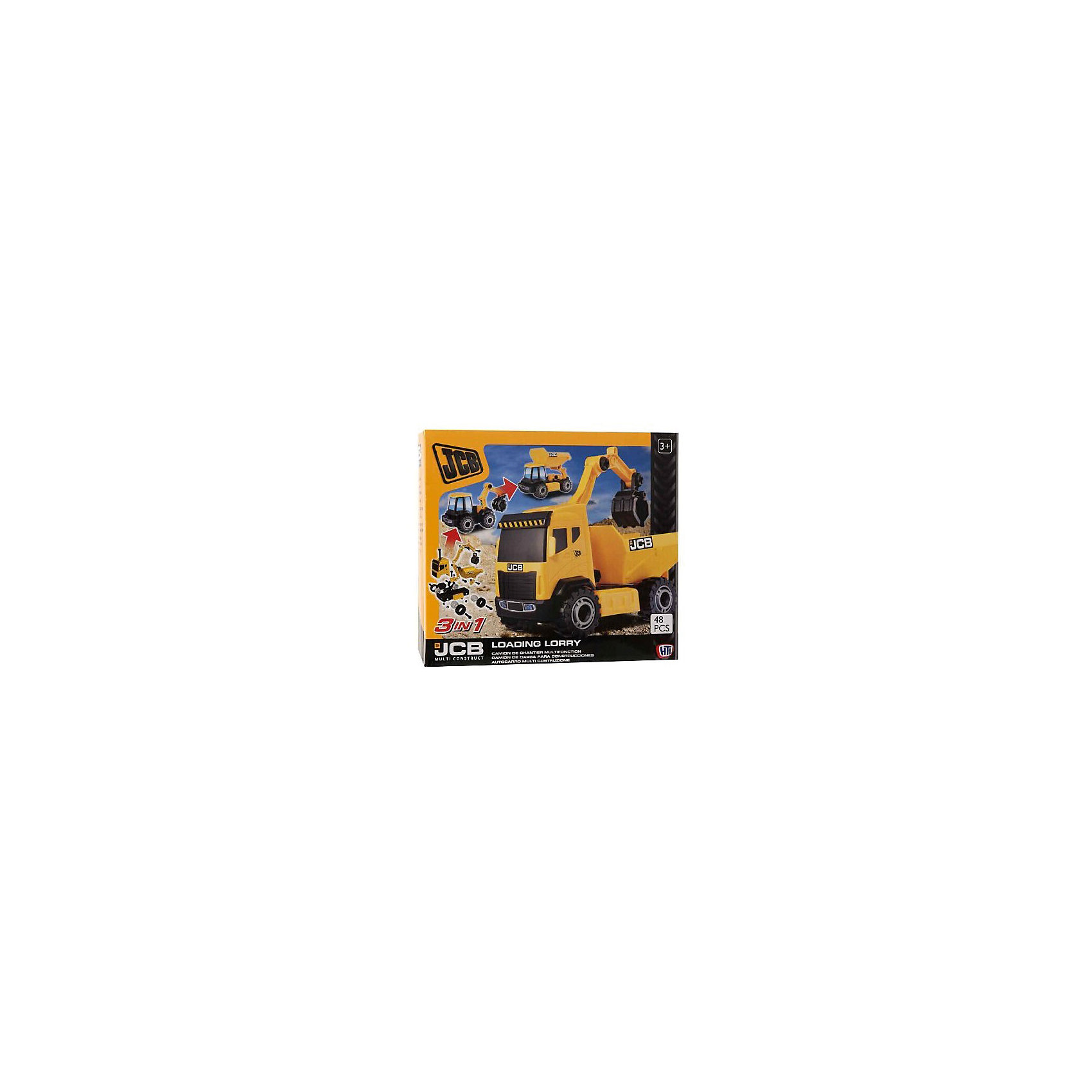 HTI Игровой набор Стройка, JCB плоскогубцы jcb jpl005