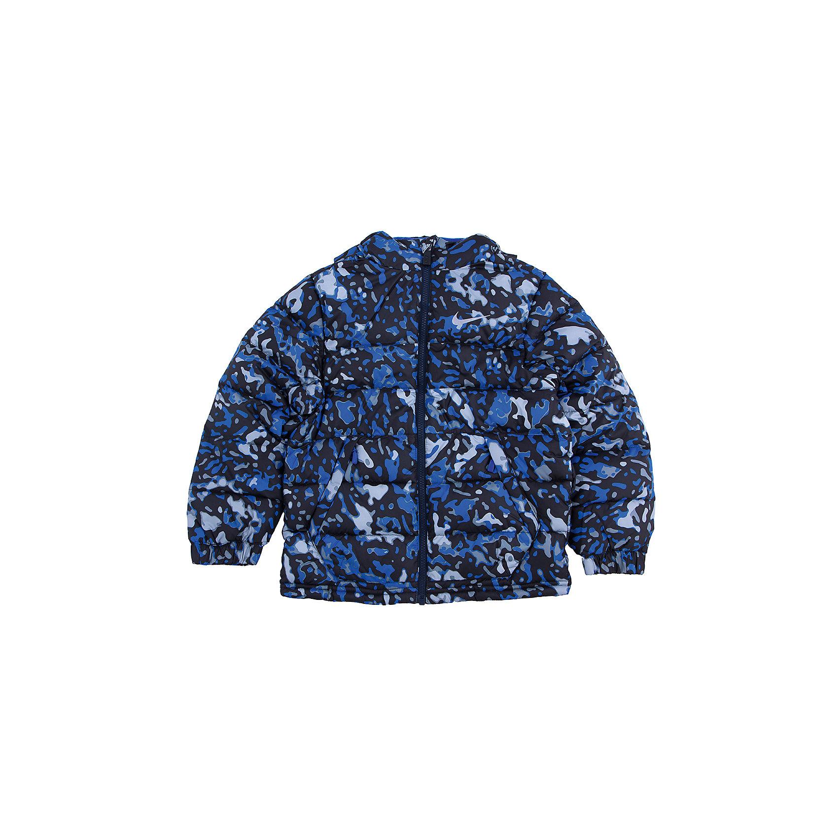 Куртка для мальчика NIKE ALLIANCE GFX JACKET YTH NIKEКуртка для мальчика NIKE ALLIANCE GFX JACKET YTH NIKE - практичный и удобный вариант для вашего ребенка. Легкий стильный пуховик с искусственным наполнителем сохранит тепло на протяжении всей зимы. Современные искусственные материалы куртки отличаются износостойкостью, устойчивостью к воздействию тепла и света, быстро сохнут и не требуют особого ухода.<br><br>Дополнительная информация:<br><br>Материал подкладки полиэстер, 100 %<br>Утеплитель полиэстер, 100 %<br>Утепленный капюшон с высоким воротом, врезные карманы на молнии<br>Капюшон и манжеты рукавов с флисовой подкладкой<br>Температурный режим: от +5° до -15°С<br><br>Куртку для мальчика NIKE ALLIANCE GFX JACKET YTH NIKE можно купить в нашем магазине.<br><br>Ширина мм: 356<br>Глубина мм: 10<br>Высота мм: 245<br>Вес г: 519<br>Цвет: синий<br>Возраст от месяцев: 108<br>Возраст до месяцев: 144<br>Пол: Мужской<br>Возраст: Детский<br>Размер: 140/152,158/170,152/158,128/140,116/128<br>SKU: 4248723