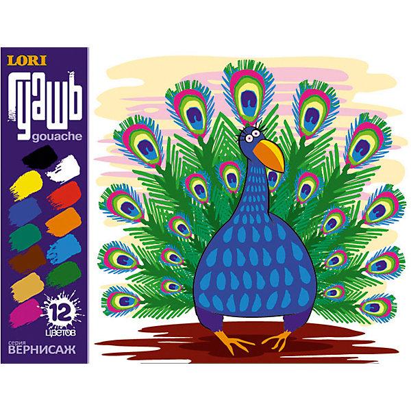 Гуашь Вернисаж, 12 цветовРисование и лепка<br>Гуашь Вернисаж, 12 цветов - это качественный набор для детского творчества и декоративно-оформительских работ.<br>Гуашь Вернисаж предназначена для рисования по бумаге, картону, дереву и стеклу. Набор включает в себя двенадцать баночек разноцветной гуаши. Каждая пластиковая баночка закрывается винтовой крышкой. Гуашь имеет насыщенные цвета и однородную структуру, равномерно ложится на бумагу, не требуя многократного прокрашивания. Яркие цвета хорошо смешиваются и дают множество оттенков. Легко размываются водой и быстро сохнут. При высыхании приобретают матово-бархатистую поверхность. Гуашь Вернисаж изготовлена на основе натуральных компонентов и высококачественных пигментов.<br><br>Дополнительная информация:<br><br>- В наборе: гуашь 12 цветов (по 20 мл)<br>- Цвета: розовый, бежевый, два оттенка зеленого, коричневый, синий, голубой, оранжевый, желтый, красный, белый, черный<br>- Состав: вода, декстрин, глицерин, органические и неорганические тонкодисперсные пигменты<br>- Упаковка: картонная коробка<br>- Размер упаковки: 12,3 х 16 х 4 см.<br>- Вес: 399 гр.<br><br>Гуашь Вернисаж, 12 цветов можно купить в нашем интернет-магазине.<br>Ширина мм: 123; Глубина мм: 160; Высота мм: 40; Вес г: 399; Возраст от месяцев: 36; Возраст до месяцев: 144; Пол: Унисекс; Возраст: Детский; SKU: 4249893;