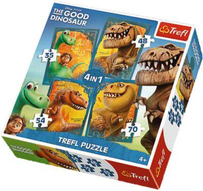 Набор пазлов Хороший Динозавр , 35*48*54*70 деталей, Trefl