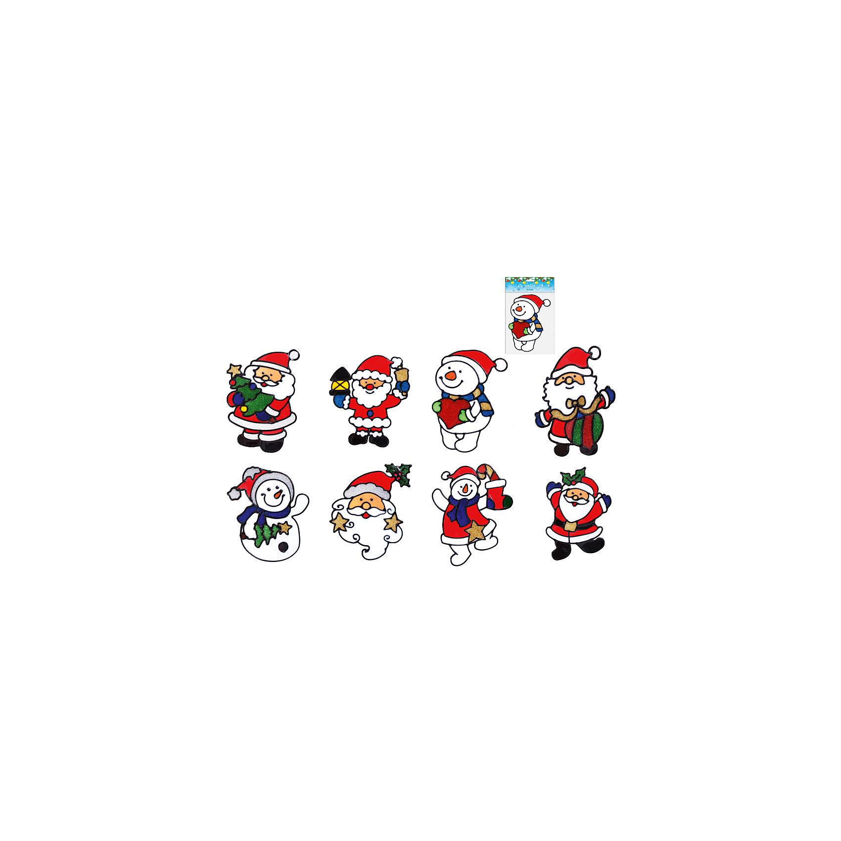 Витражная наклейка новогодняя,  в ассортиментеНовинки Новый Год<br>Витражная наклейка новогодняя,  в ассортименте замечательно украсит Ваш новогодний интерьер и создаст праздничное настроение! В ассортименте представлены 8 видов наклейки с изображениями Снеговиков, Деда Мороза или Санта Клауса. Украшение послужит замечательным мини-презентом близким и друзьям!<br><br>Дополнительная информация:<br>-Материалы: ПВХ<br>-В ассортименте: 8 дизайнов (Внимание! Заранее выбрать невозможно, при заказе нескольких возможно получение одинаковых)<br>-Размеры: 15х20 см<br>-Вес в упаковке: 10 г<br><br>Витражная наклейка новогодняя,  в ассортименте можно купить в нашем магазине.<br><br>Ширина мм: 150<br>Глубина мм: 200<br>Высота мм: 80<br>Вес г: 10<br>Возраст от месяцев: 36<br>Возраст до месяцев: 1188<br>Пол: Унисекс<br>Возраст: Детский<br>SKU: 4250996