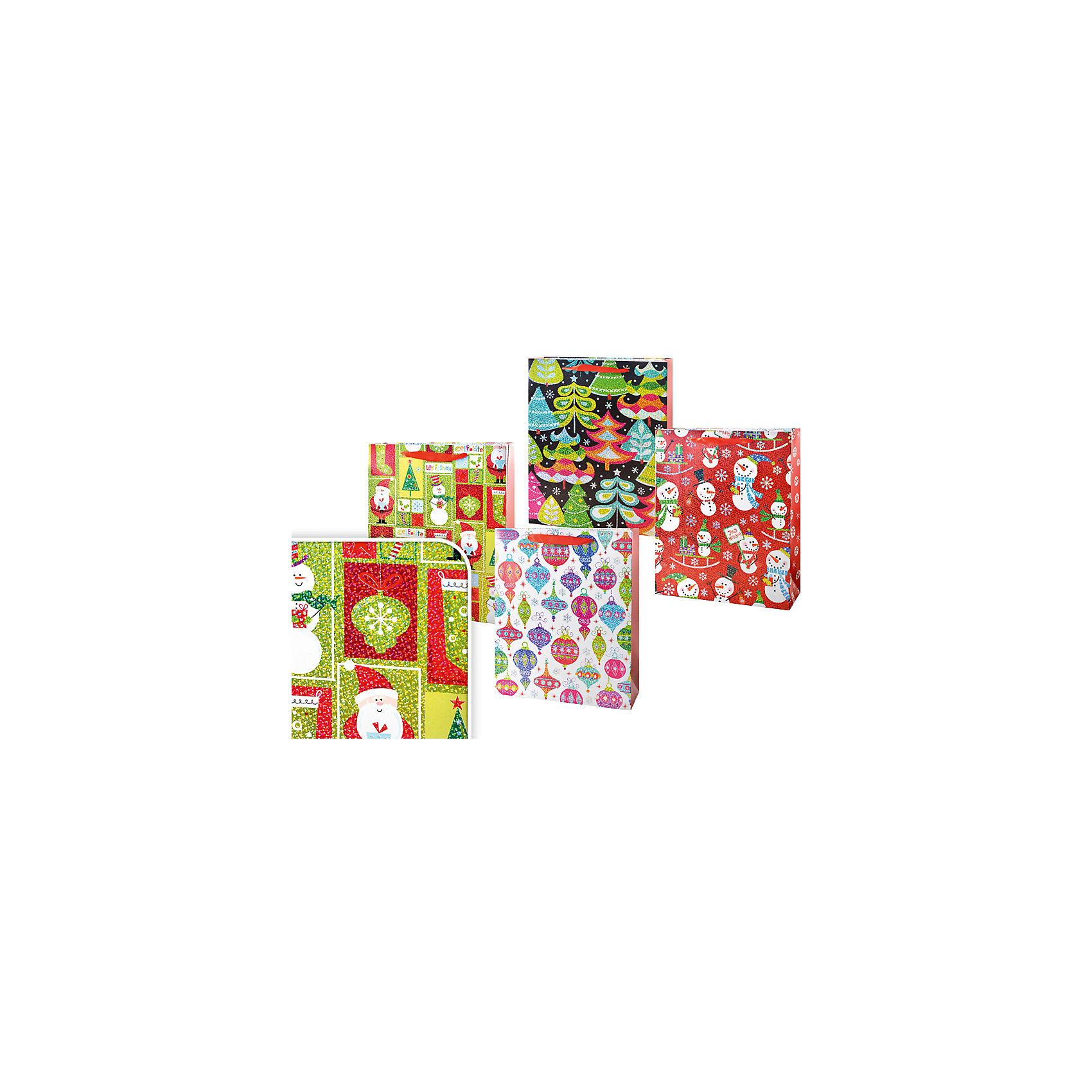 Пакет подарочный новогодний 32*26*10см,  в ассортиментеНовинки Новый Год<br>Пакет подарочный новогодний 32*26*10см,  в ассортименте с ярким дизайном станет незаменимым дополнением к выбранному подарку, подчеркивая его, и добавит праздничного настроения. Упаковка подарков в пакеты – удобно и просто. Пакет выполнен из плотной бумаги, для удобной переноски имеются две ручки.<br><br>Дополнительная информация:<br>-Материалы: бумага, текстиль<br>-Размеры: 32х26х10 см<br>-Вес в упаковке: 80 г<br>-В ассортименте: 5 вариантов (Внимание! Заранее выбрать невозможно, при заказе нескольких возможно получение одинаковых)<br><br>Новогодний подарок, преподнесенный в оригинальном подарочном пакете, всегда будет самым эффектным и запоминающимся!<br><br>Пакет подарочный новогодний 32*26*10см,  в ассортименте можно купить в нашем магазине.<br><br>Ширина мм: 320<br>Глубина мм: 260<br>Высота мм: 100<br>Вес г: 80<br>Возраст от месяцев: 36<br>Возраст до месяцев: 1188<br>Пол: Унисекс<br>Возраст: Детский<br>SKU: 4250999