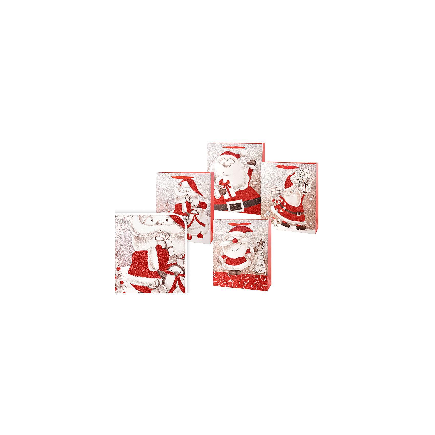 Пакет подарочный новогодний 32*26*10см, в ассортиментеНовинки Новый Год<br>Пакет подарочный новогодний 32*26*10см, в ассортименте с различными изображениями Деда Мороза –  необходимый атрибут в период новогодних праздников, который подчеркнет Ваш подарок и добавит праздничного настроения. Упаковка подарков в пакеты – удобно и просто. Пакет выполнен из плотной бумаги, для удобной переноски на пакете имеются две ручки.<br><br>Дополнительная информация:<br>-Материалы: бумага, текстиль<br>-Размеры: 32х26х10 см<br>-Вес в упаковке: 80 г<br>-В ассортименте: 5 вариантов (Внимание! Заранее выбрать невозможно, при заказе нескольких возможно получение одинаковых)<br><br>Новогодний подарок, преподнесенный в оригинальном подарочном пакете, всегда будет самым эффектным и запоминающимся!<br><br>Пакет подарочный новогодний 32*26*10см, в ассортименте можно купить в нашем магазине.<br><br>Ширина мм: 320<br>Глубина мм: 260<br>Высота мм: 100<br>Вес г: 80<br>Возраст от месяцев: 36<br>Возраст до месяцев: 1188<br>Пол: Унисекс<br>Возраст: Детский<br>SKU: 4251000