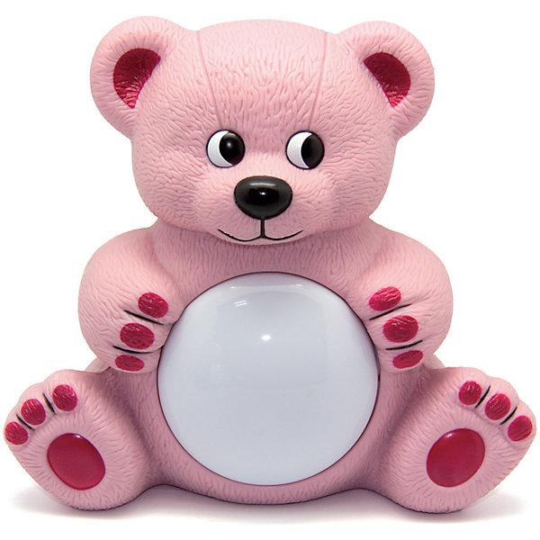 Светильник Мишутка Maman, розовыйНовинки для детской<br>Светильник Мишутка Maman имеет два режима работы:<br>Режим Автоматический - мягкая музыка и ночник включаются и выключаются автоматически. В дальнейшем активируются звуком. <br>Режим Ночник - ночник включается и выключается при помощи нажатия на плафон. <br>Работает на двух батарейках стандарта C/UM-2, 1,5 В (входит в комплект).<br><br>Светильник Мишутка Maman можно купить в нашем магазине.<br><br>Ширина мм: 200<br>Глубина мм: 125<br>Высота мм: 185<br>Вес г: 353<br>Возраст от месяцев: 0<br>Возраст до месяцев: 36<br>Пол: Унисекс<br>Возраст: Детский<br>SKU: 4251096