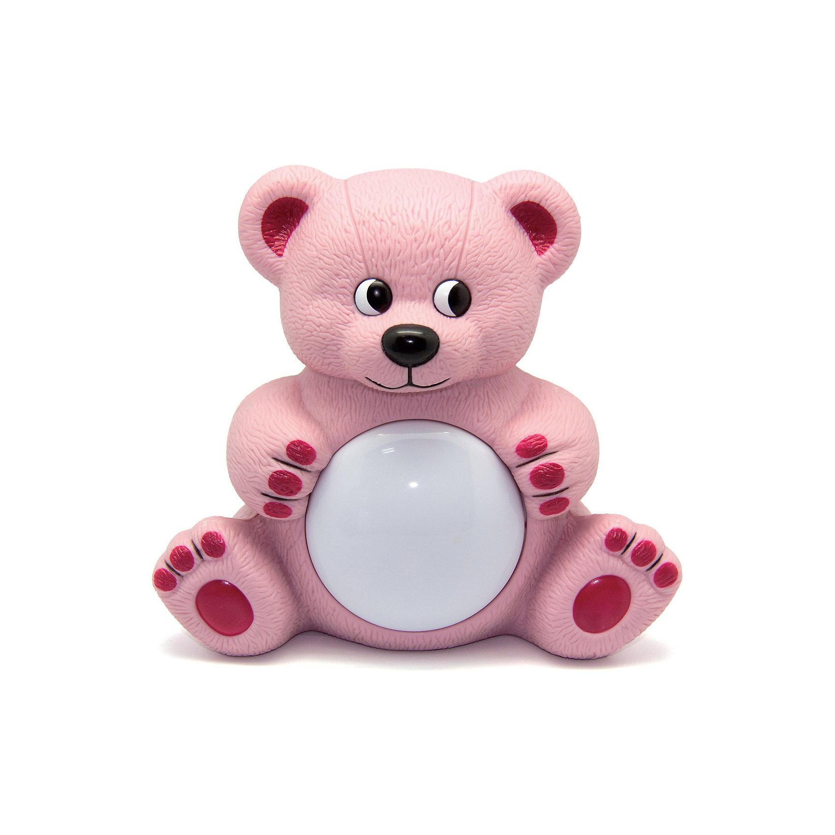 Светильник Мишутка Maman, розовыйСветильник Мишутка Maman имеет два режима работы:<br>Режим Автоматический - мягкая музыка и ночник включаются и выключаются автоматически. В дальнейшем активируются звуком. <br>Режим Ночник - ночник включается и выключается при помощи нажатия на плафон. <br>Работает на двух батарейках стандарта C/UM-2, 1,5 В (входит в комплект).<br><br>Светильник Мишутка Maman можно купить в нашем магазине.<br><br>Ширина мм: 200<br>Глубина мм: 125<br>Высота мм: 185<br>Вес г: 353<br>Возраст от месяцев: 0<br>Возраст до месяцев: 36<br>Пол: Унисекс<br>Возраст: Детский<br>SKU: 4251096