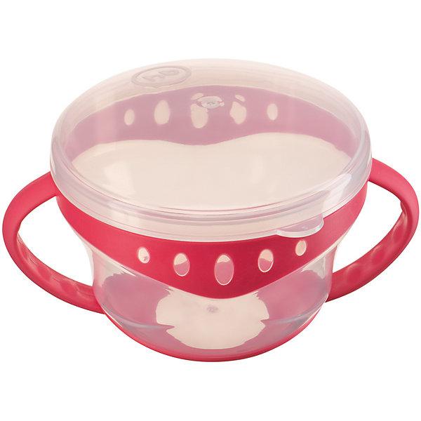 Купить Тарелка с крышкой Comfy Plate, Happy Baby, красный, Китай, Женский