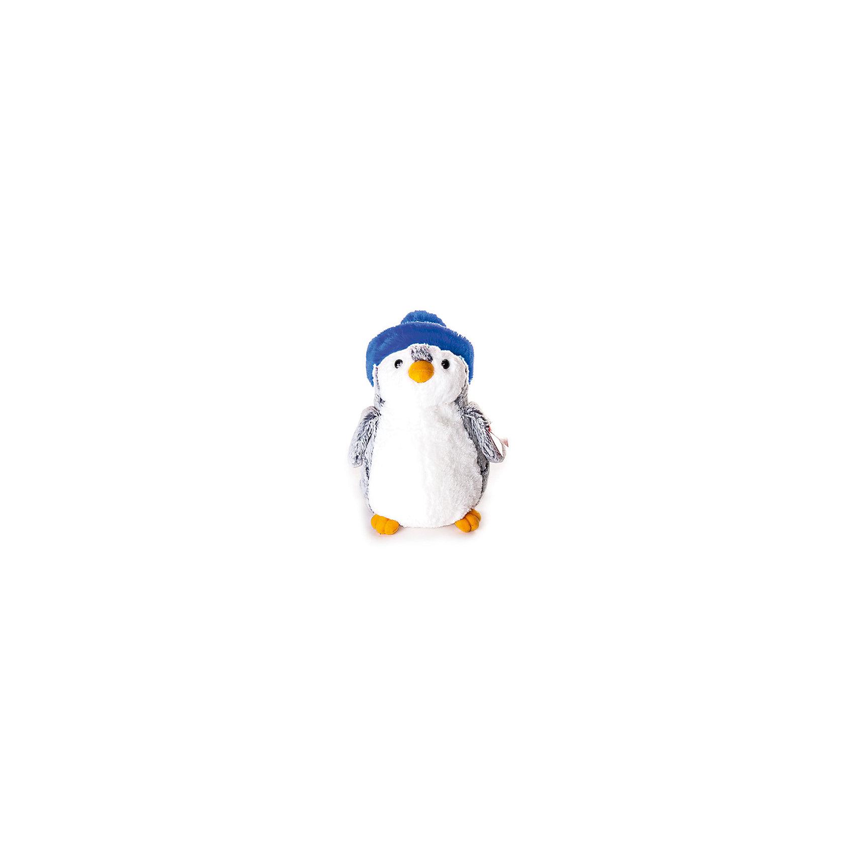 Мягкая игрушка Пингвин в синей шапке, 30 см., AURORAОчаровательный пингвиненок станет другом любому малышу. Мягкая шёрстка, приятная на ощупь, жёлтый клювик и лапки не могут оставить равнодушным - его хочется взять в руки и погладить. На голову пингвина одета синяя шапочка. Игрушка изготовлена из высококачественного гипоаллергенного плюша и абсолютно безопасна даже для самых маленьких детей.<br><br>Дополнительная информация:<br><br>- Материал: мех, текстиль, синтепон.<br>- Размер: 30 см.<br><br>Мягкую игрушку Пингвин в синей шапке, 30 см., AURORA можно купить в нашем магазине.<br><br>Ширина мм: 230<br>Глубина мм: 310<br>Высота мм: 200<br>Вес г: 450<br>Возраст от месяцев: 36<br>Возраст до месяцев: 192<br>Пол: Унисекс<br>Возраст: Детский<br>SKU: 4251453