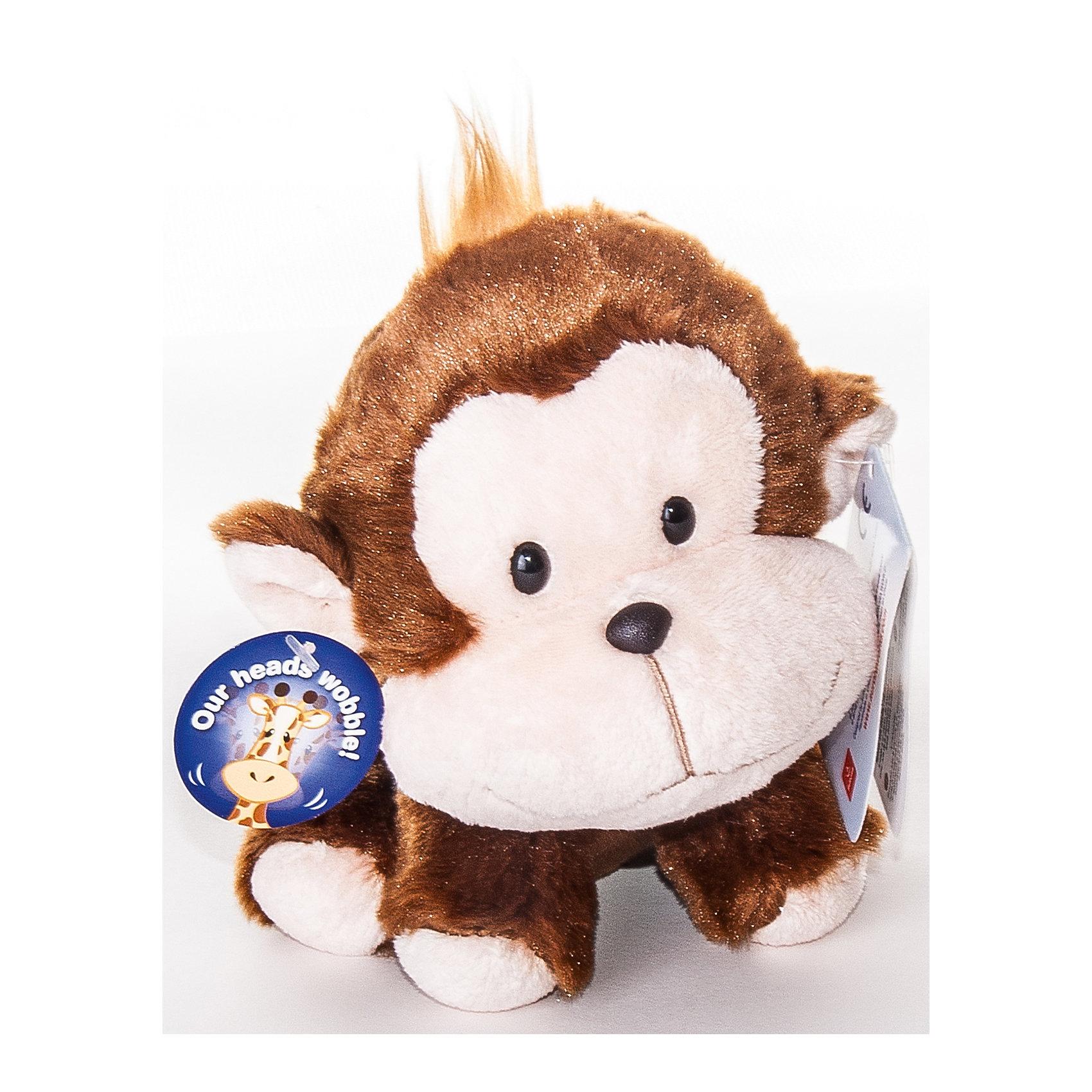 Мягкая игрушка Обезьянка Wobbly Bobblee, 18 см., AURORAОчаровательная мягкая обезьянка приведет в восторг любого малыша! Мягкая игрушка выполнена из высококачественных экологичных материалов абсолютно безопасна для детей. Она станет отличным новогодним подарком, ведь 2016 год будет годом «обезьяны». <br><br>Дополнительная информация:<br><br>- Материал: мех, пластик, синтепон.<br>- Размер: 18 см.<br><br>Мягкую игрушку Обезьянку Wobbly Bobblee, 18 см., AURORA (Аврора) можно купить в нашем магазине.<br><br>Ширина мм: 110<br>Глубина мм: 150<br>Высота мм: 110<br>Вес г: 125<br>Возраст от месяцев: 36<br>Возраст до месяцев: 192<br>Пол: Унисекс<br>Возраст: Детский<br>SKU: 4251458